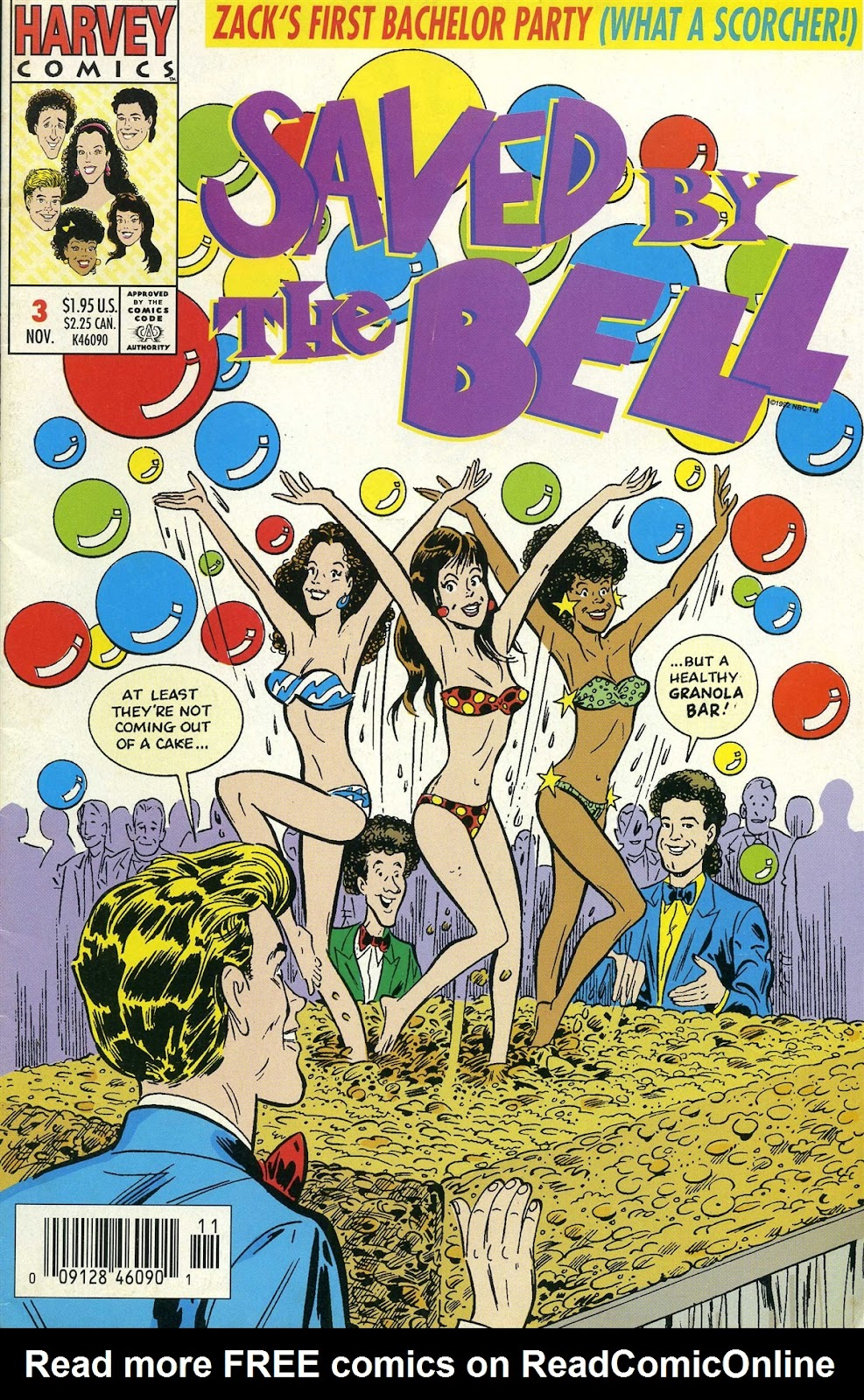 Read online Saved By The Bell comic -  Issue #3 - 1