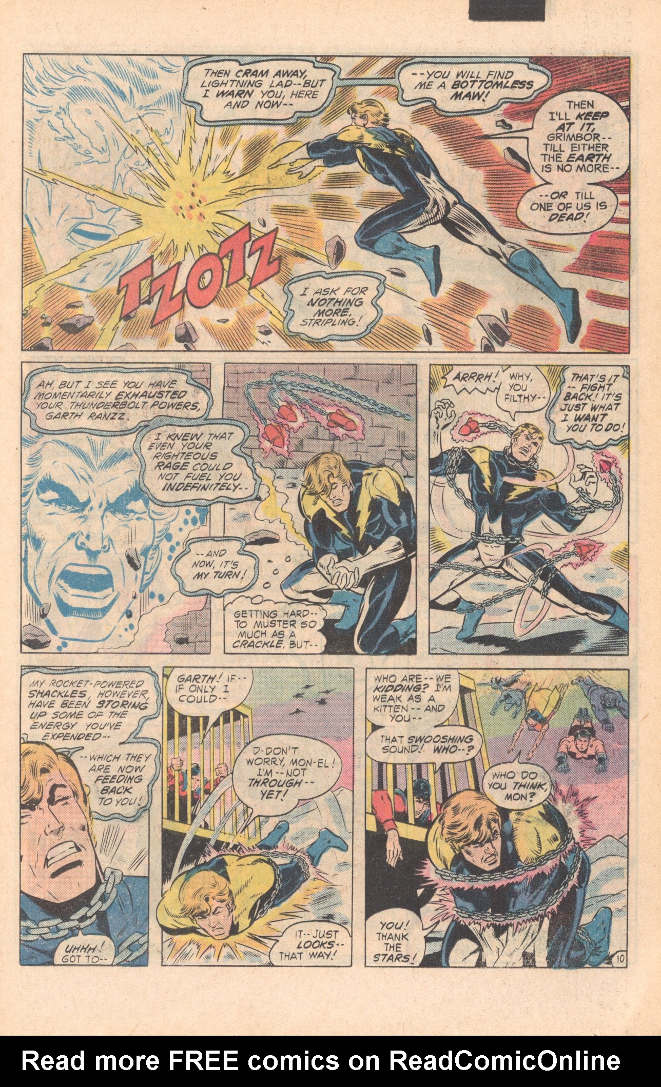 Legion of Super-Heroes (1980) 279 Page 10