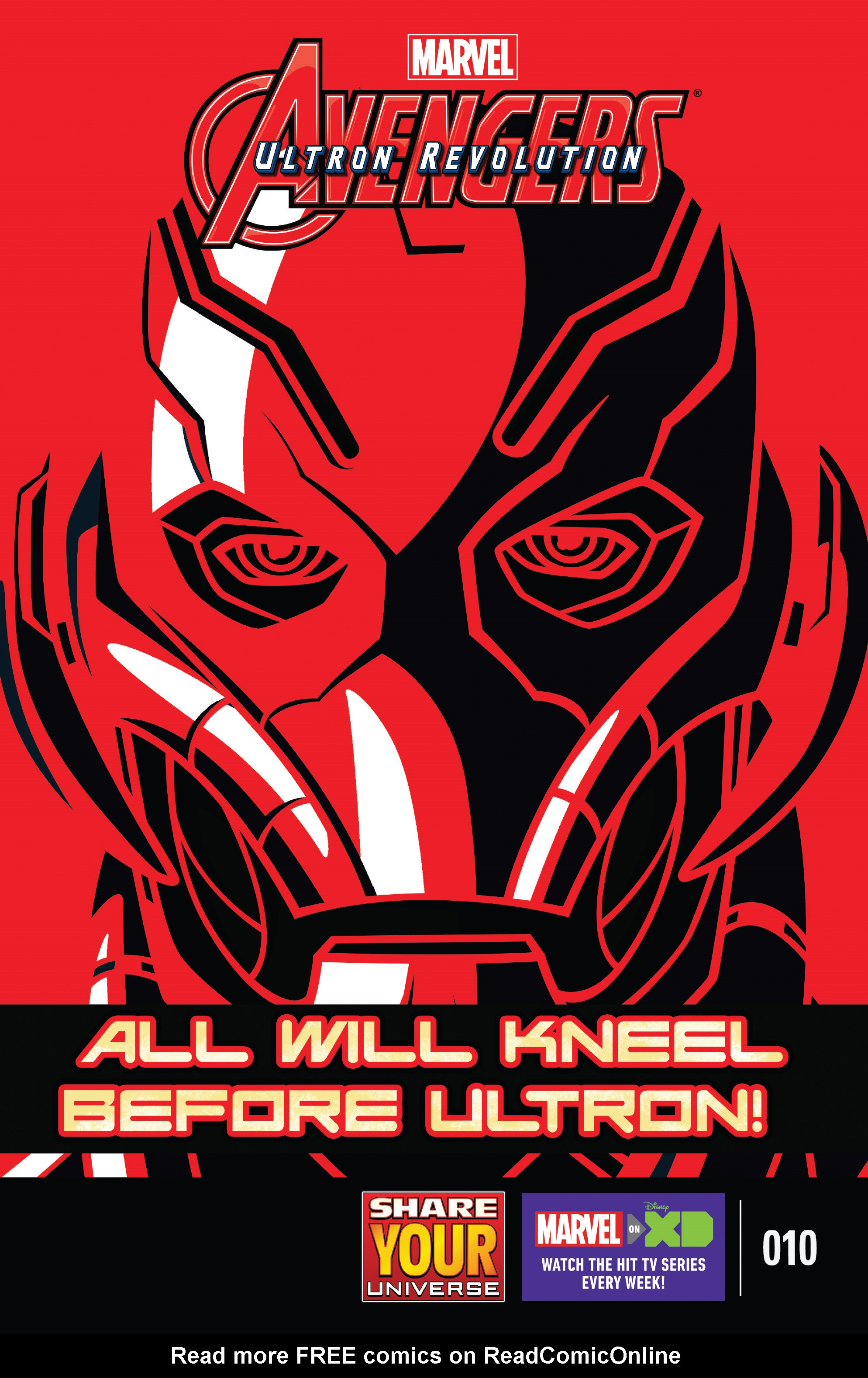 Read online Marvel Universe Avengers: Ultron Revolution comic -  Issue #10 - 1