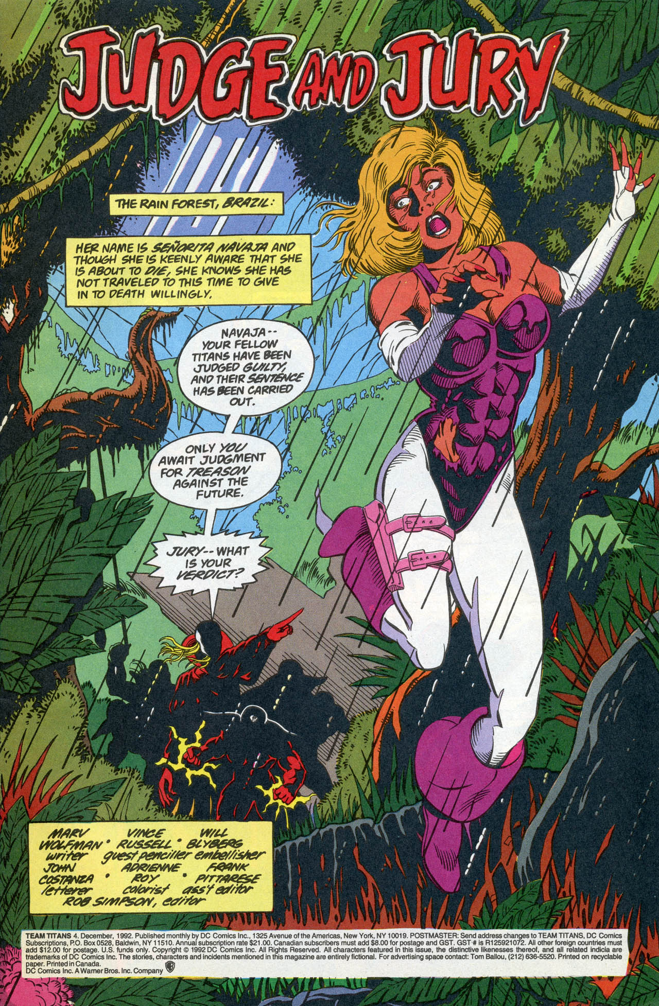 Read online Team Titans comic -  Issue #4 - 3