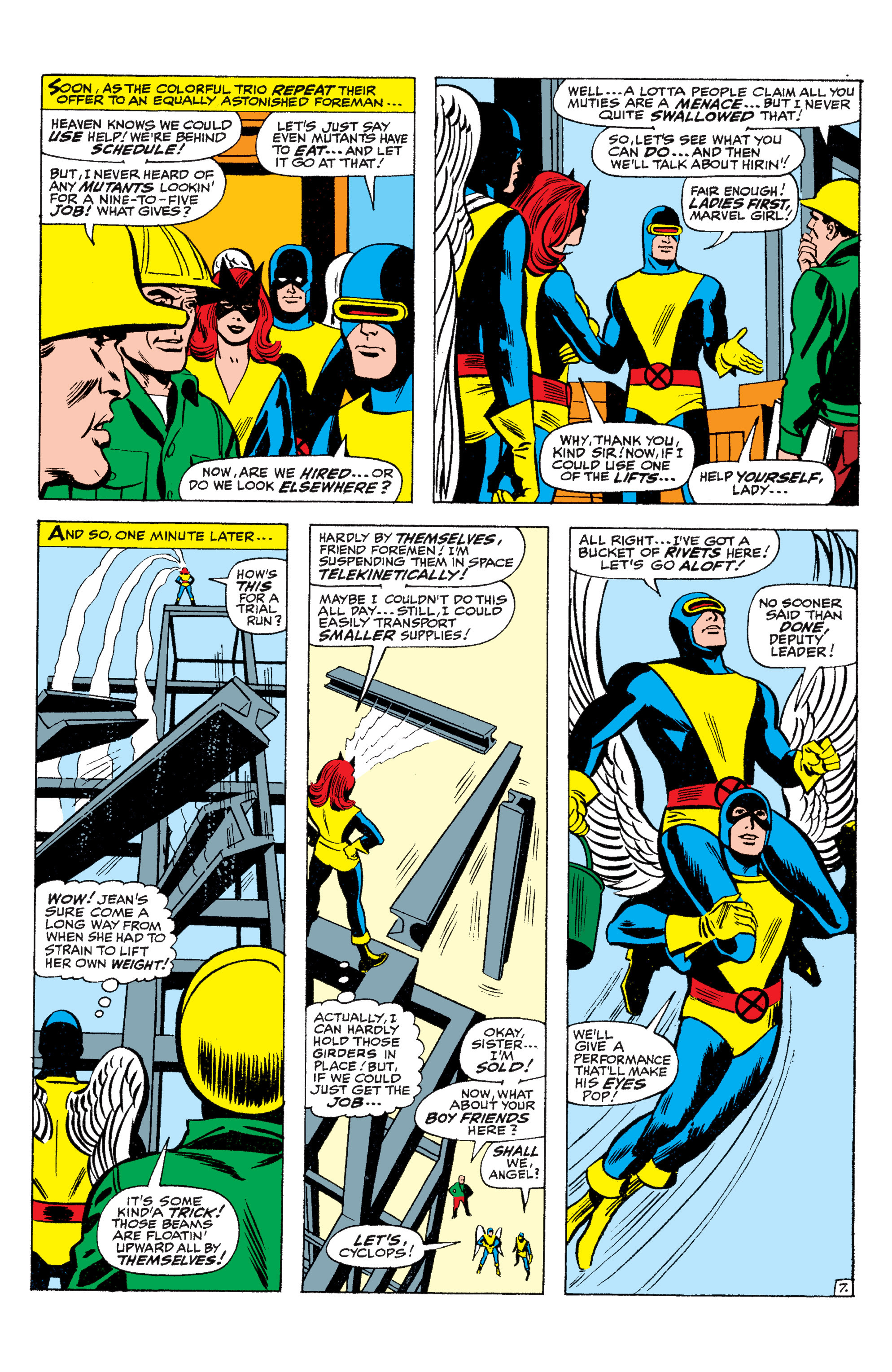 Read online Uncanny X-Men (1963) comic -  Issue #36 - 8