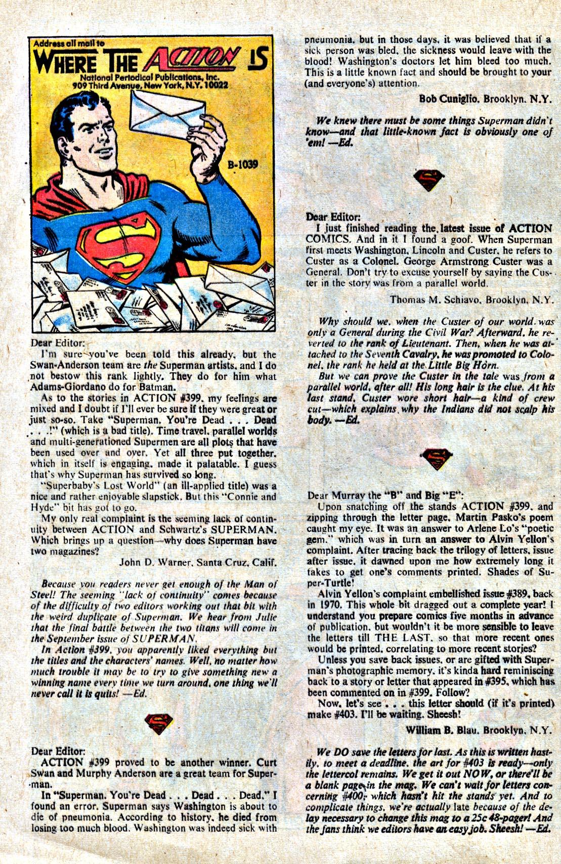 Action Comics (1938) 403 Page 30