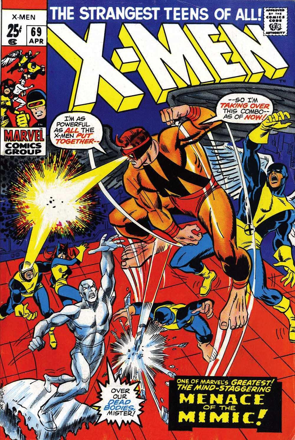 Uncanny X-Men (1963) 69 Page 1