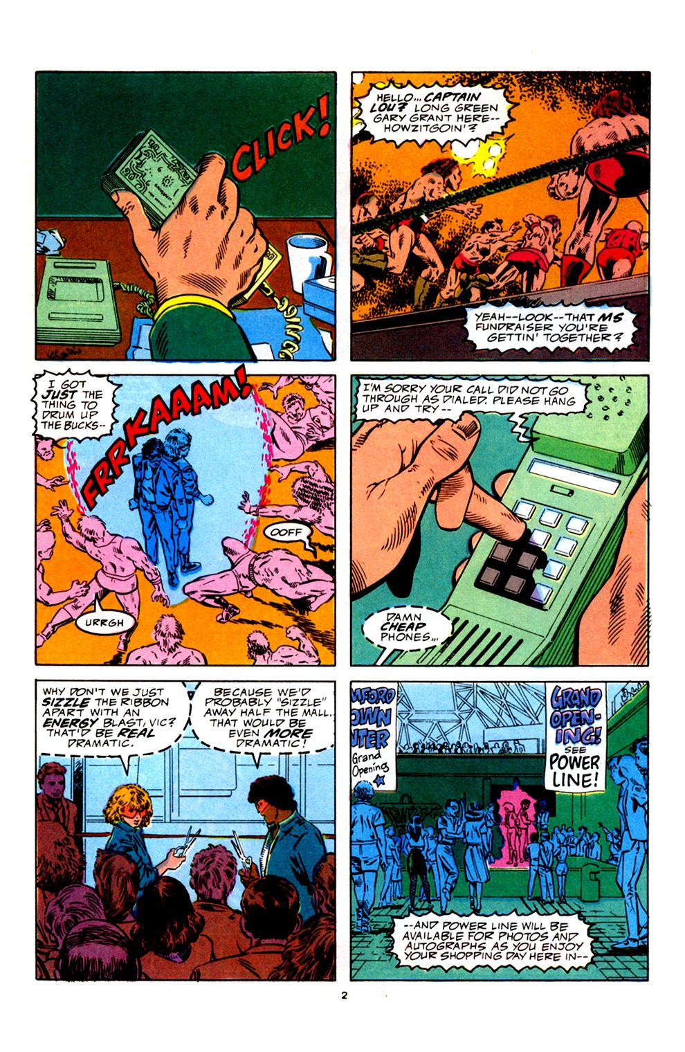 Read online Powerline comic -  Issue #4 - 4