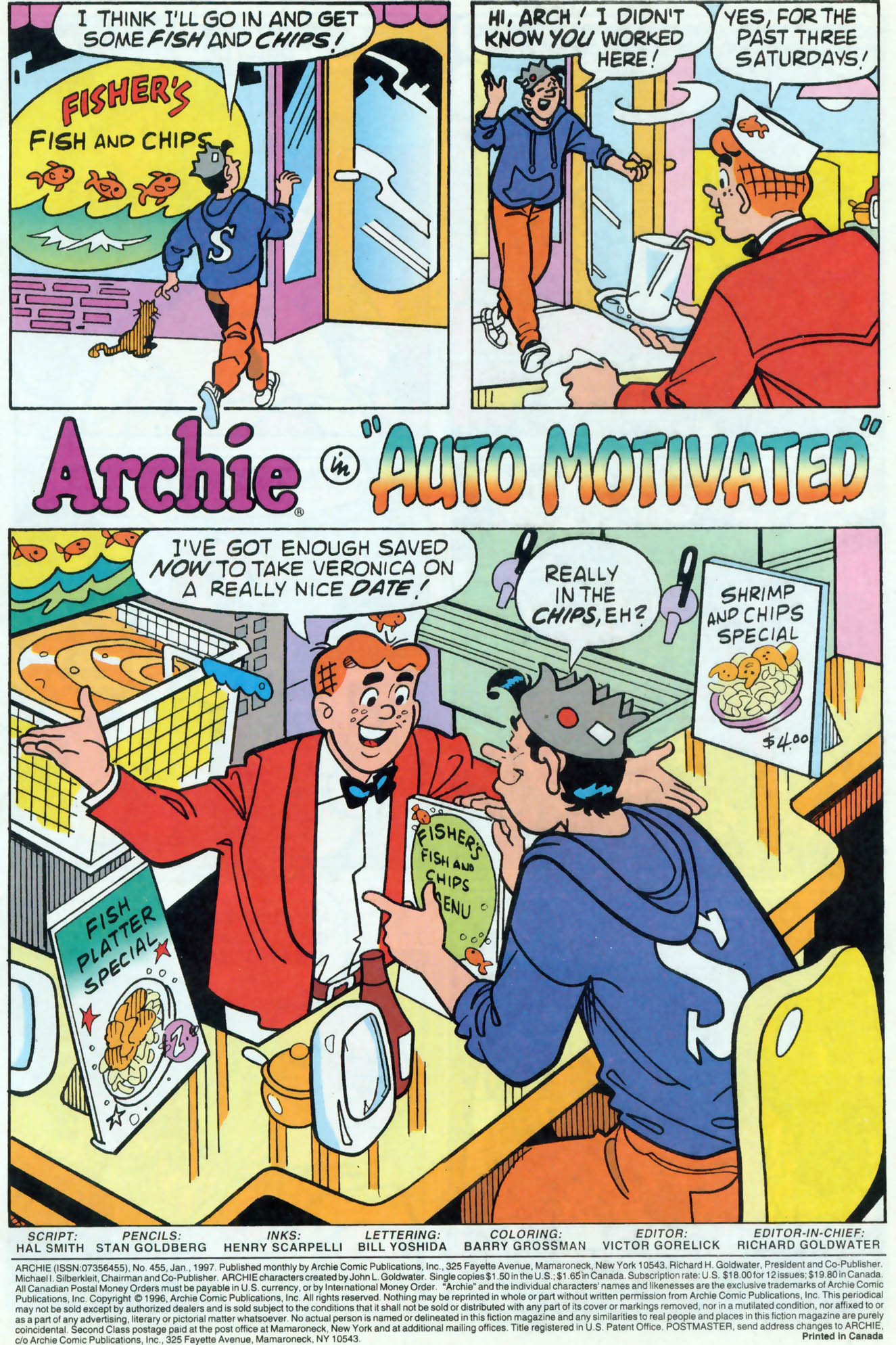 Read online Archie (1960) comic -  Issue #455 - 2