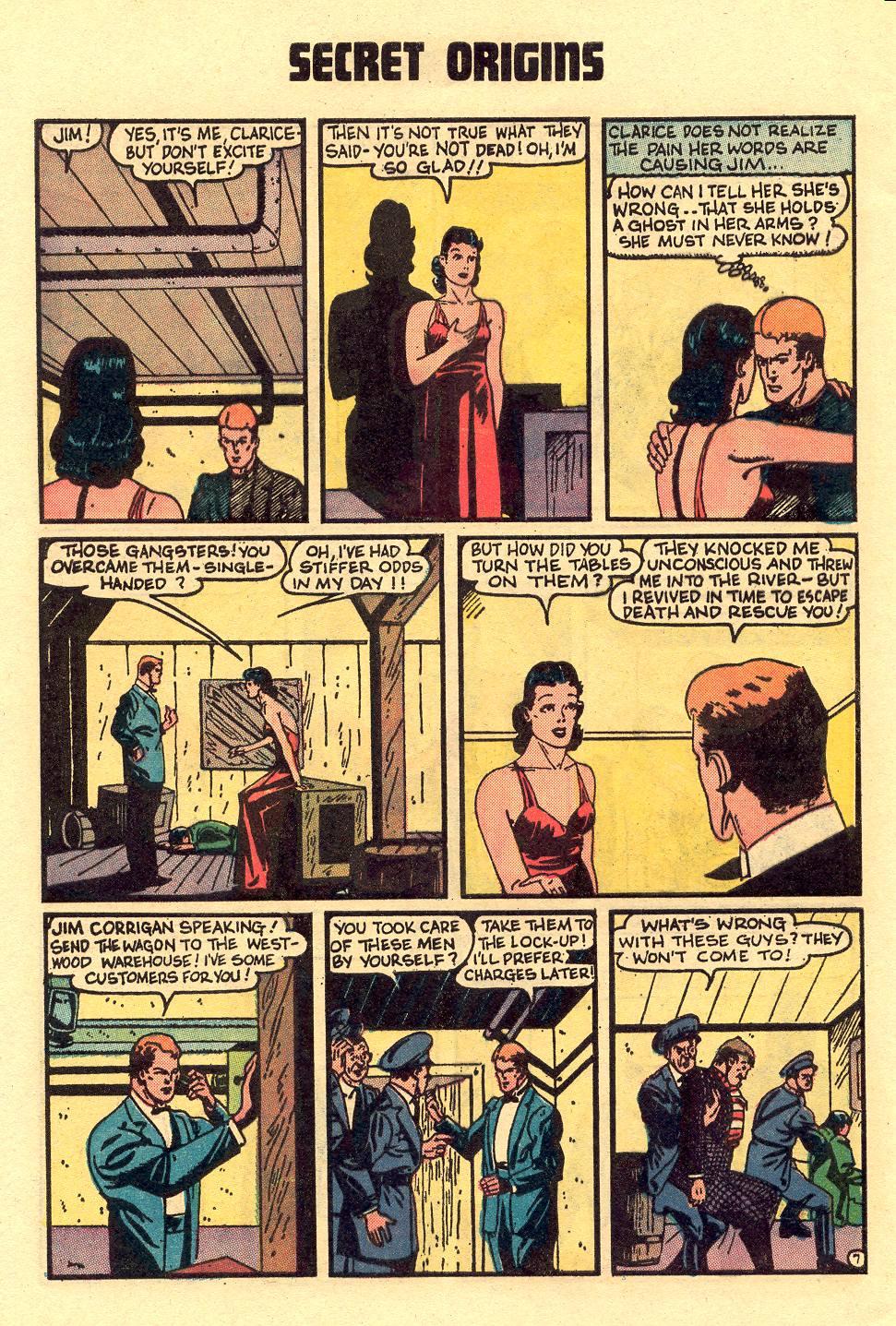 Read online Secret Origins (1973) comic -  Issue #5 - 28