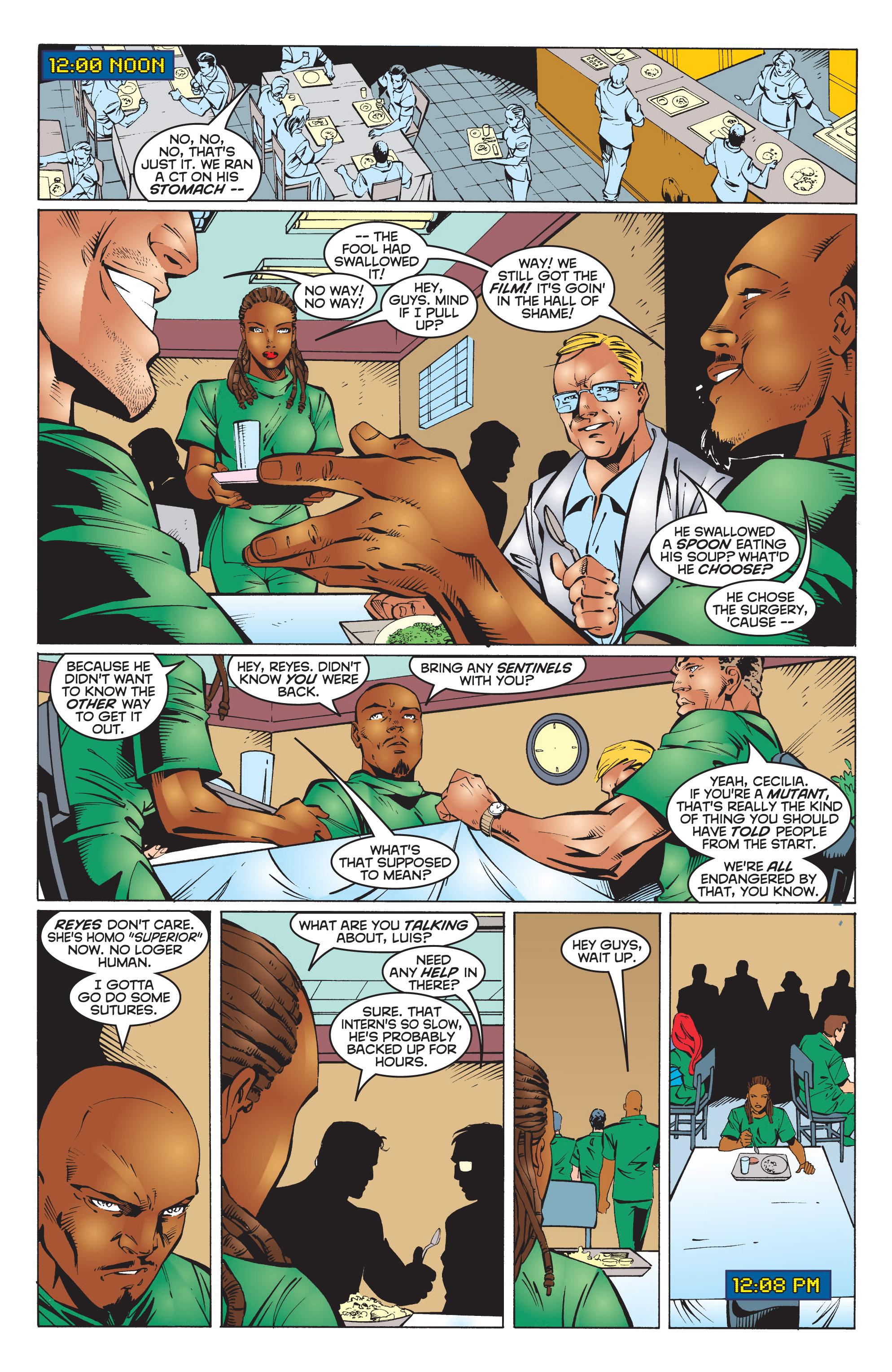 Read online Uncanny X-Men (1963) comic -  Issue #351 - 12