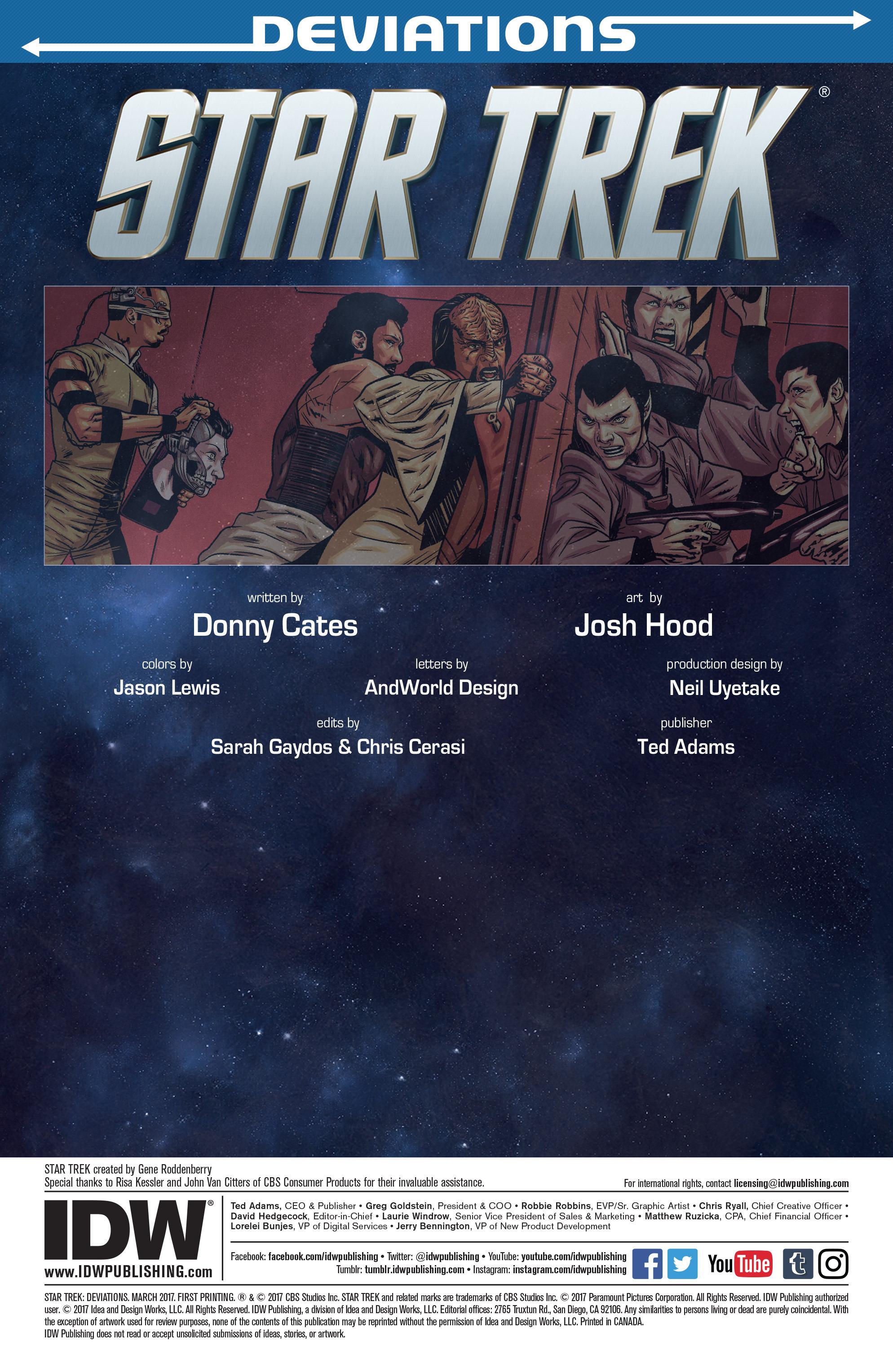 Read online Star Trek: Deviations comic -  Issue # Full - 3