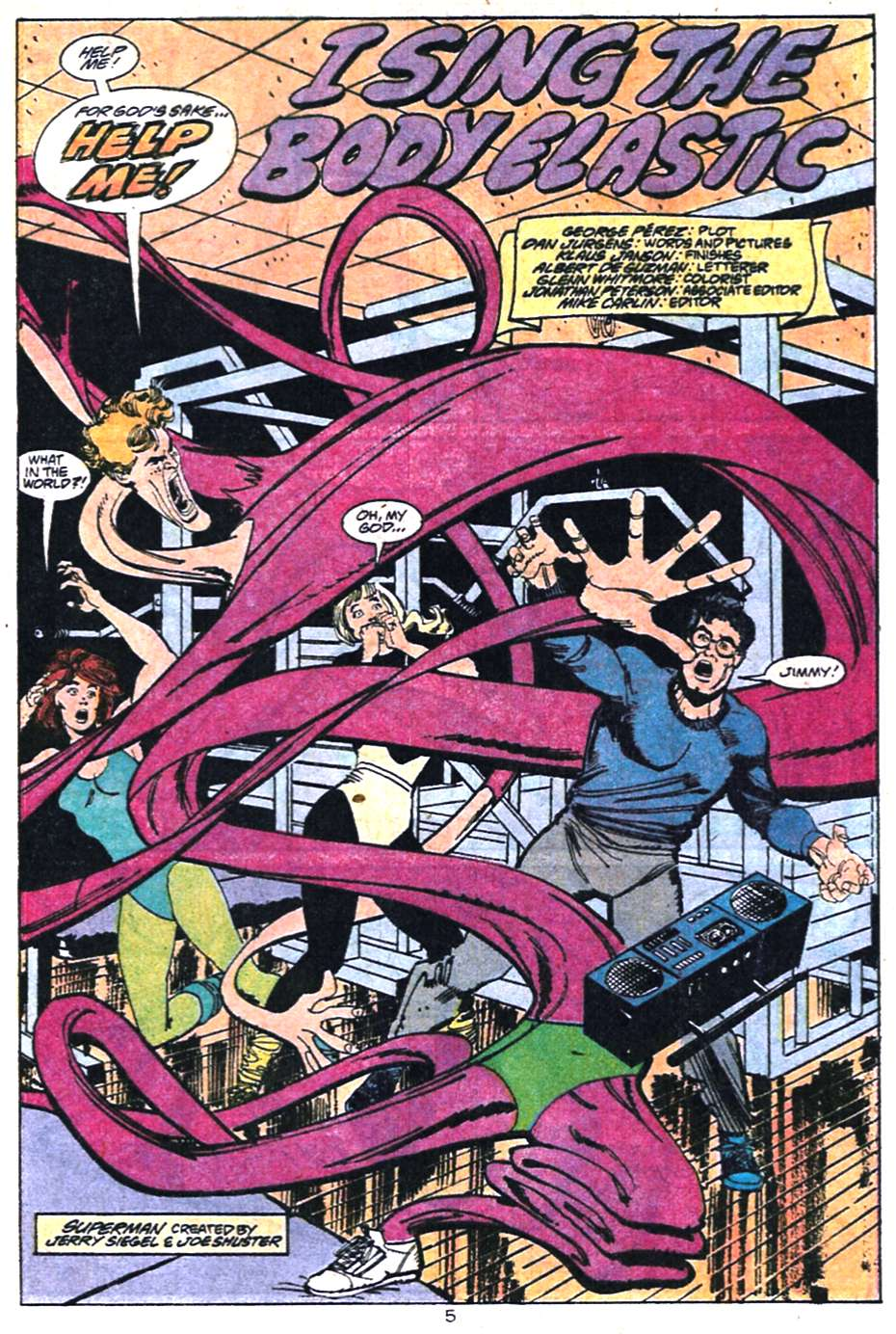 Read online Adventures of Superman (1987) comic -  Issue #458 - 6