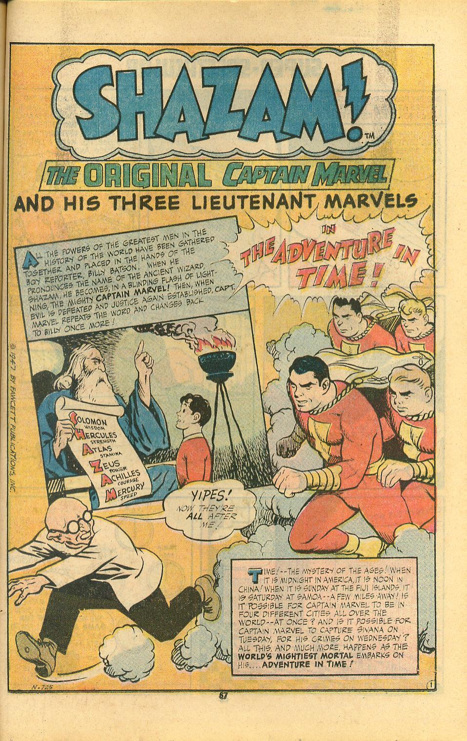 Read online Shazam! (1973) comic -  Issue #8 - 67
