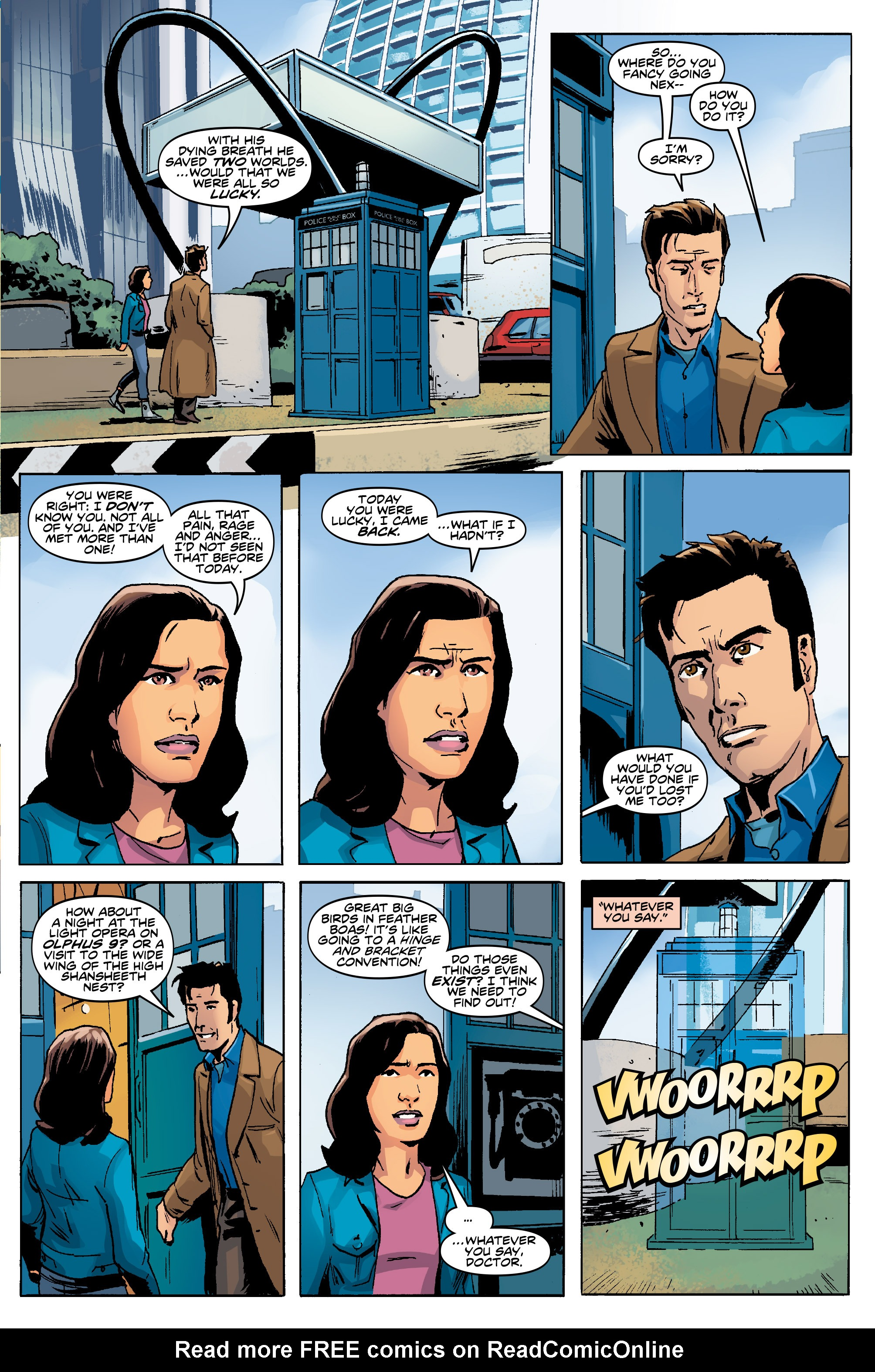 Read online Doctor Who: The Tenth Doctor Year Three comic -  Issue #5 - 28