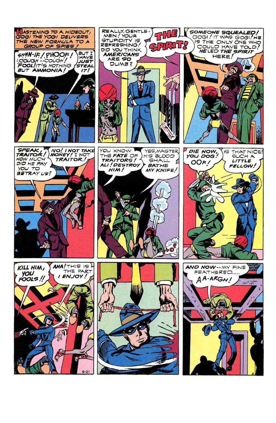 Read online Will Eisner's The Spirit Archives comic -  Issue # TPB 3 (Part 1) - 94