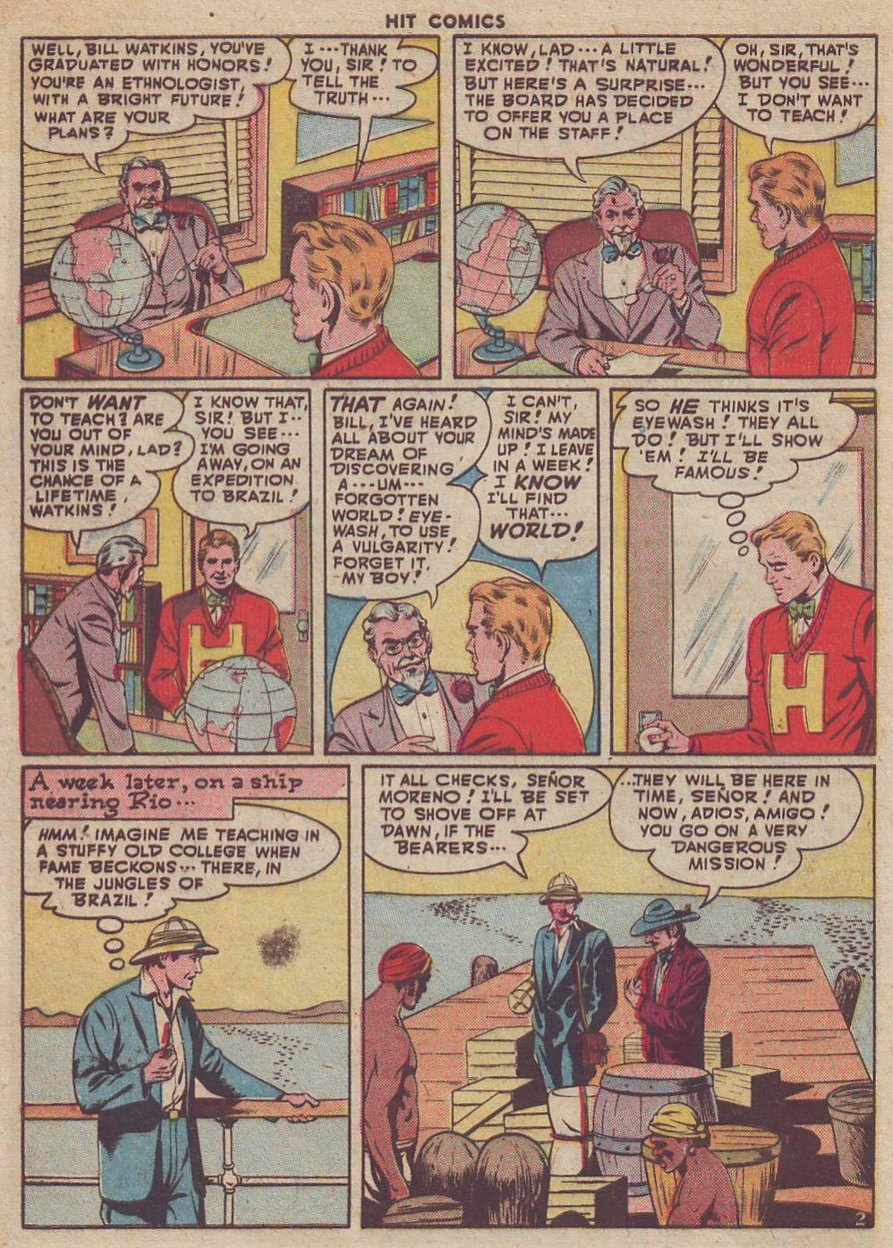 Read online Hit Comics comic -  Issue #51 - 4