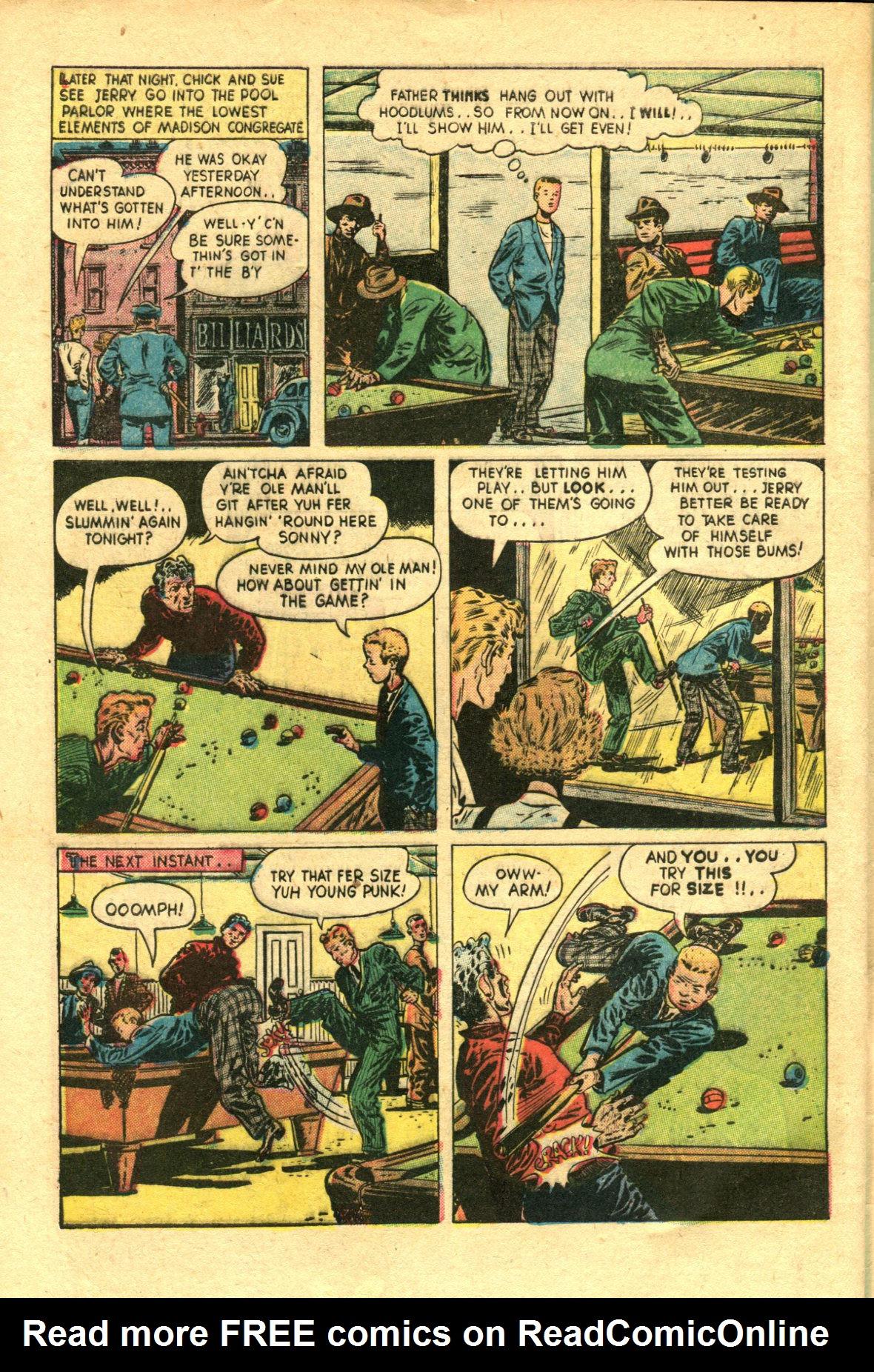 Read online Shadow Comics comic -  Issue #98 - 44