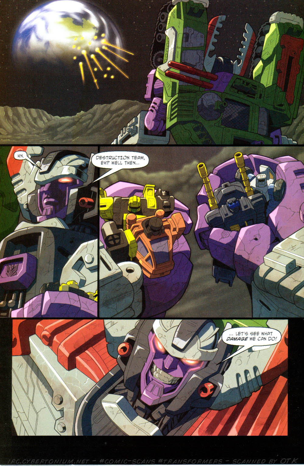 Read online Transformers Armada comic -  Issue #11 - 24
