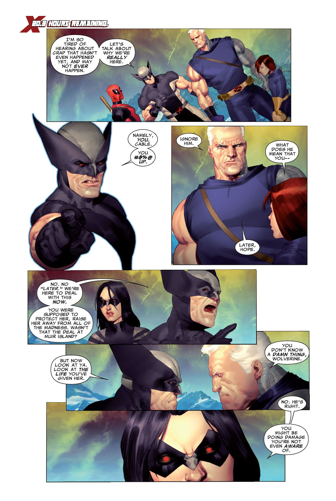 Read online X-Force/Cable: Messiah War comic -  Issue # _TPB (Part 2) - 10