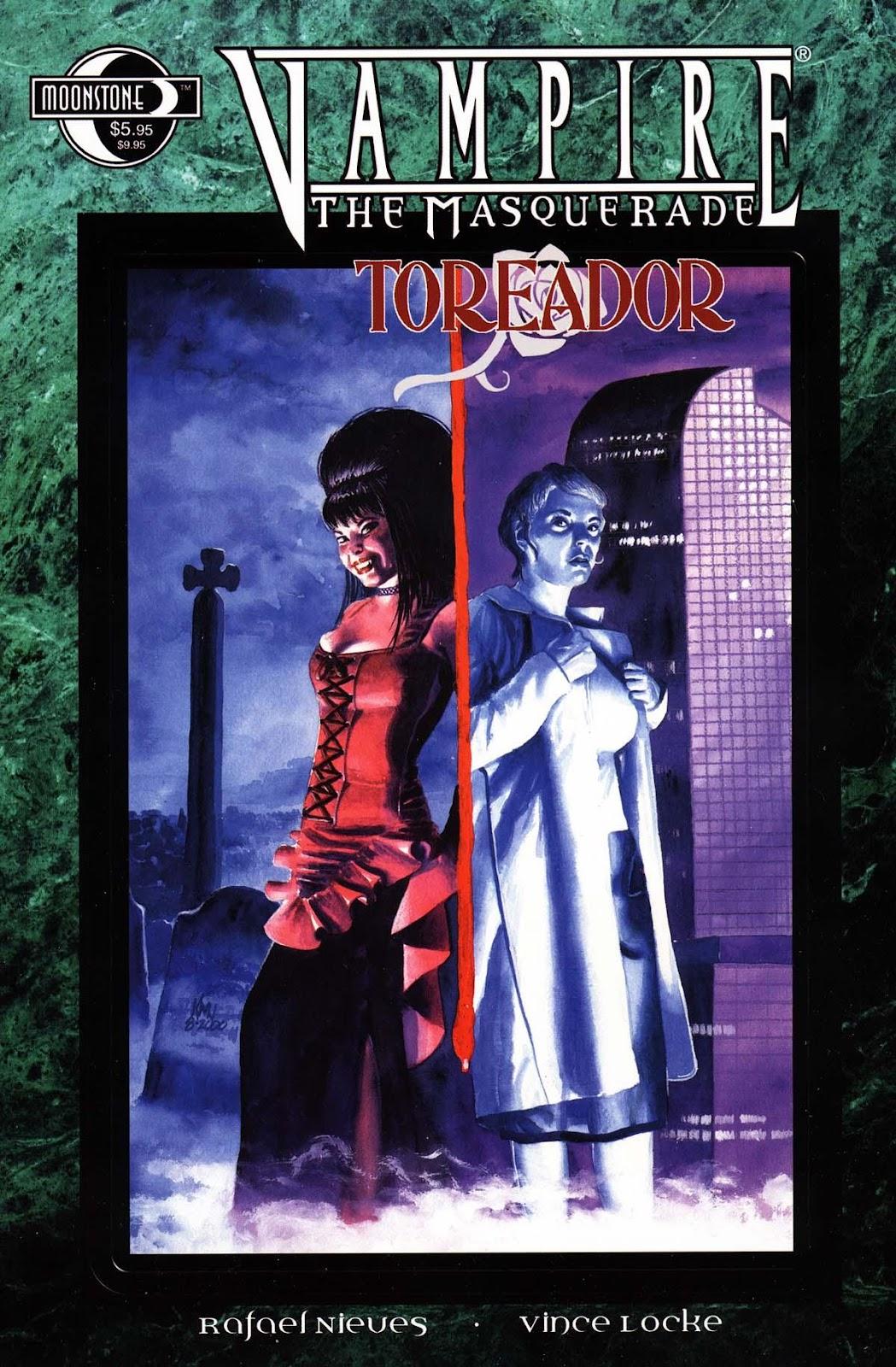 Read online Vampire the Masquerade comic -  Issue # Toreador - 1