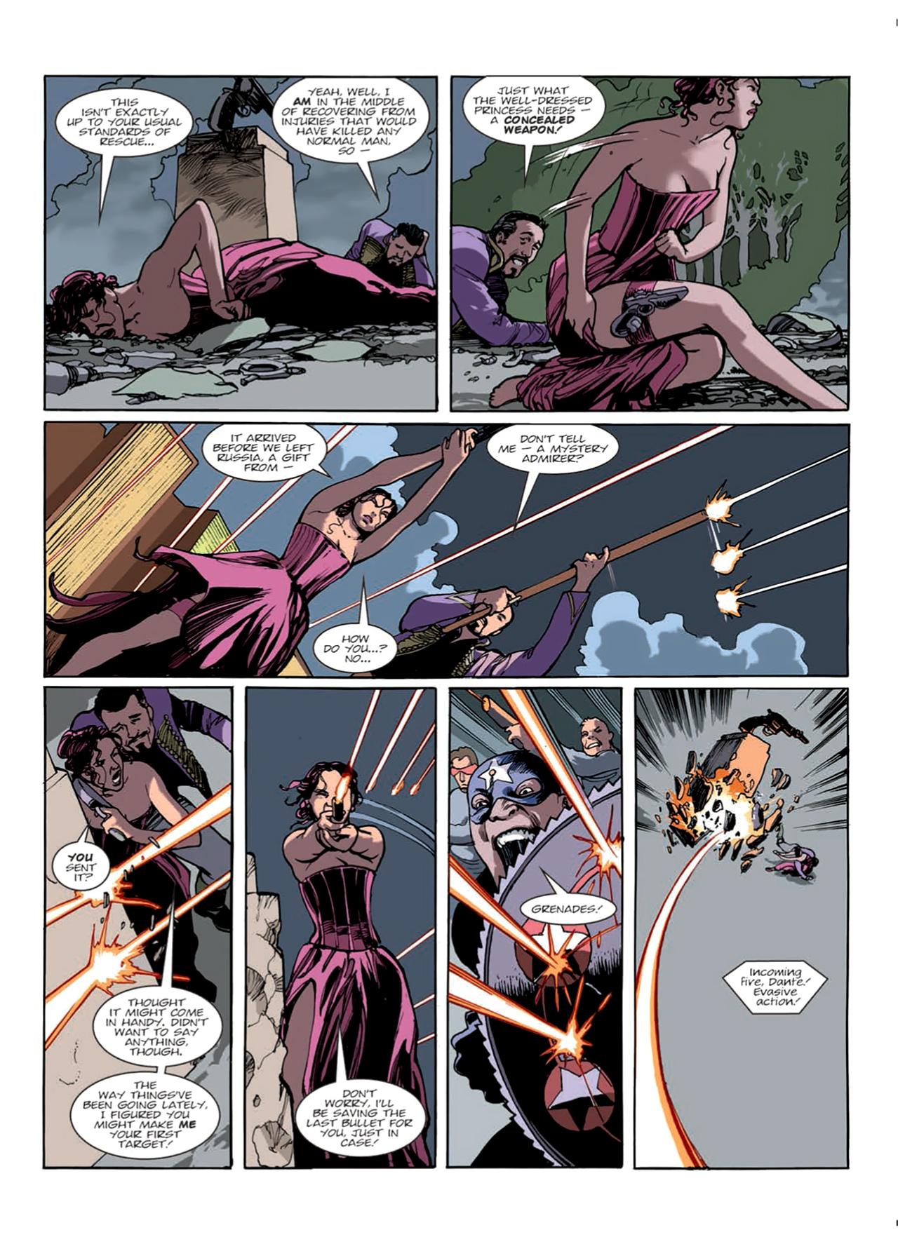 Read online Nikolai Dante comic -  Issue # TPB 9 - 27