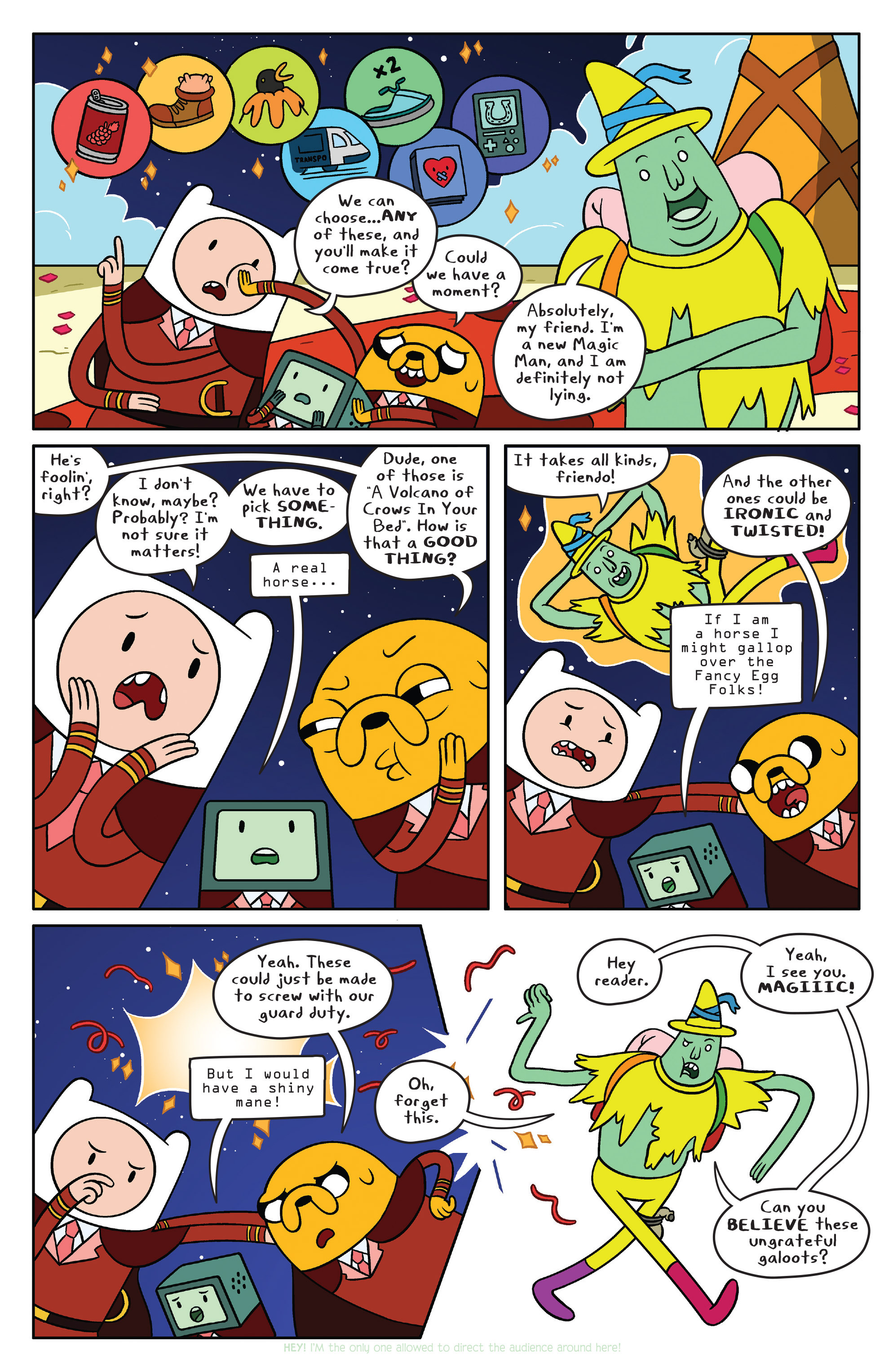 Read online Adventure Time comic -  Issue #40 - 7