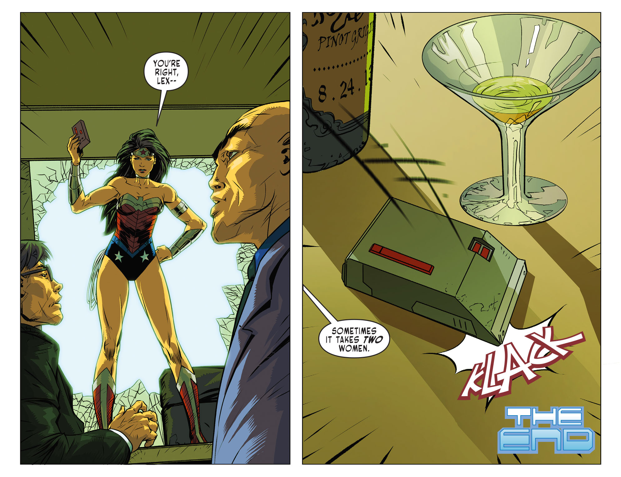 Read online Sensation Comics Featuring Wonder Woman comic -  Issue #25 - 22