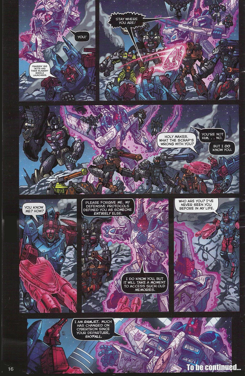 Read online Transformers: Collectors' Club comic -  Issue #4 - 16