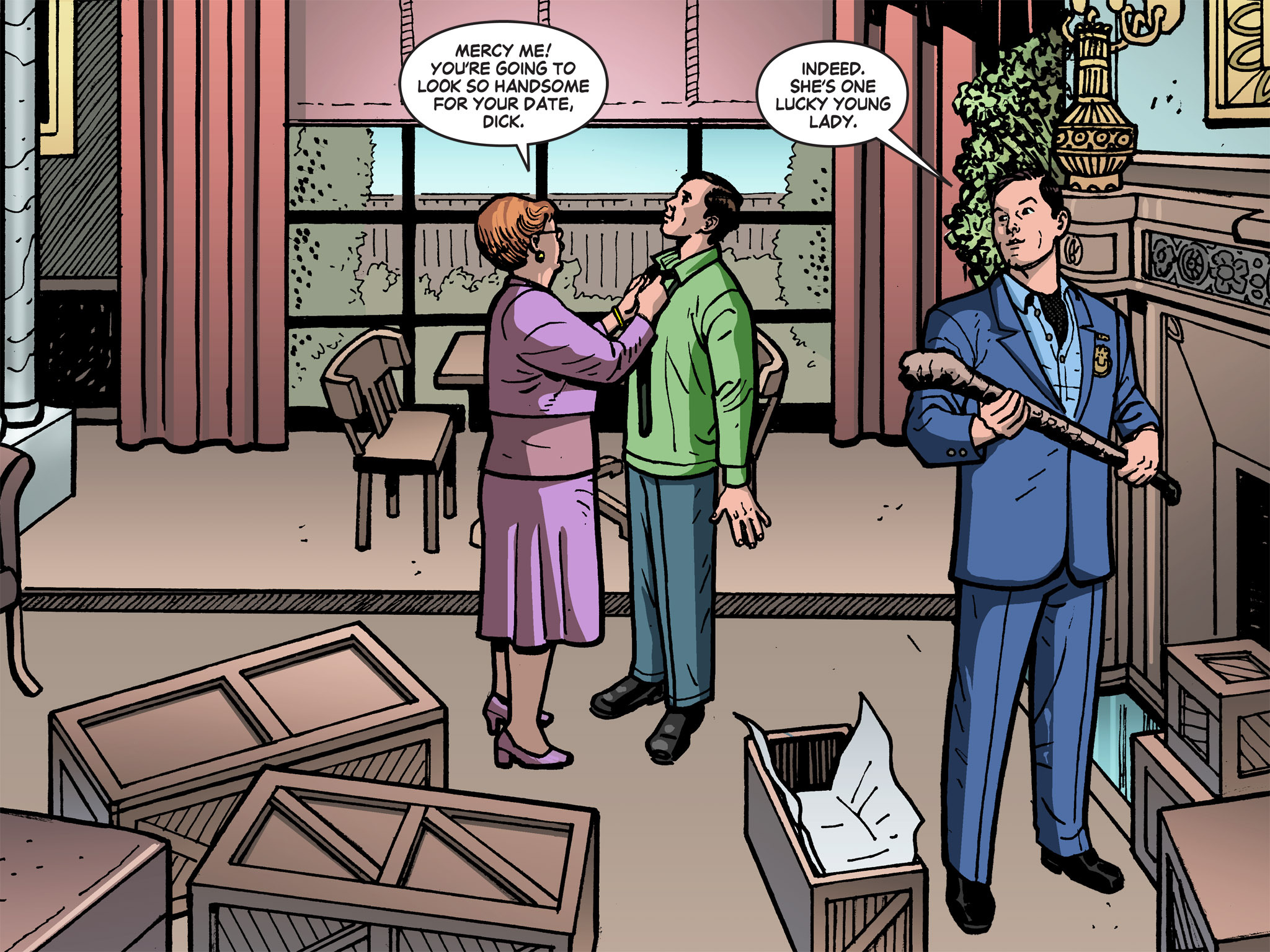 Read online Batman '66 Meets the Green Hornet [II] comic -  Issue #1 - 3