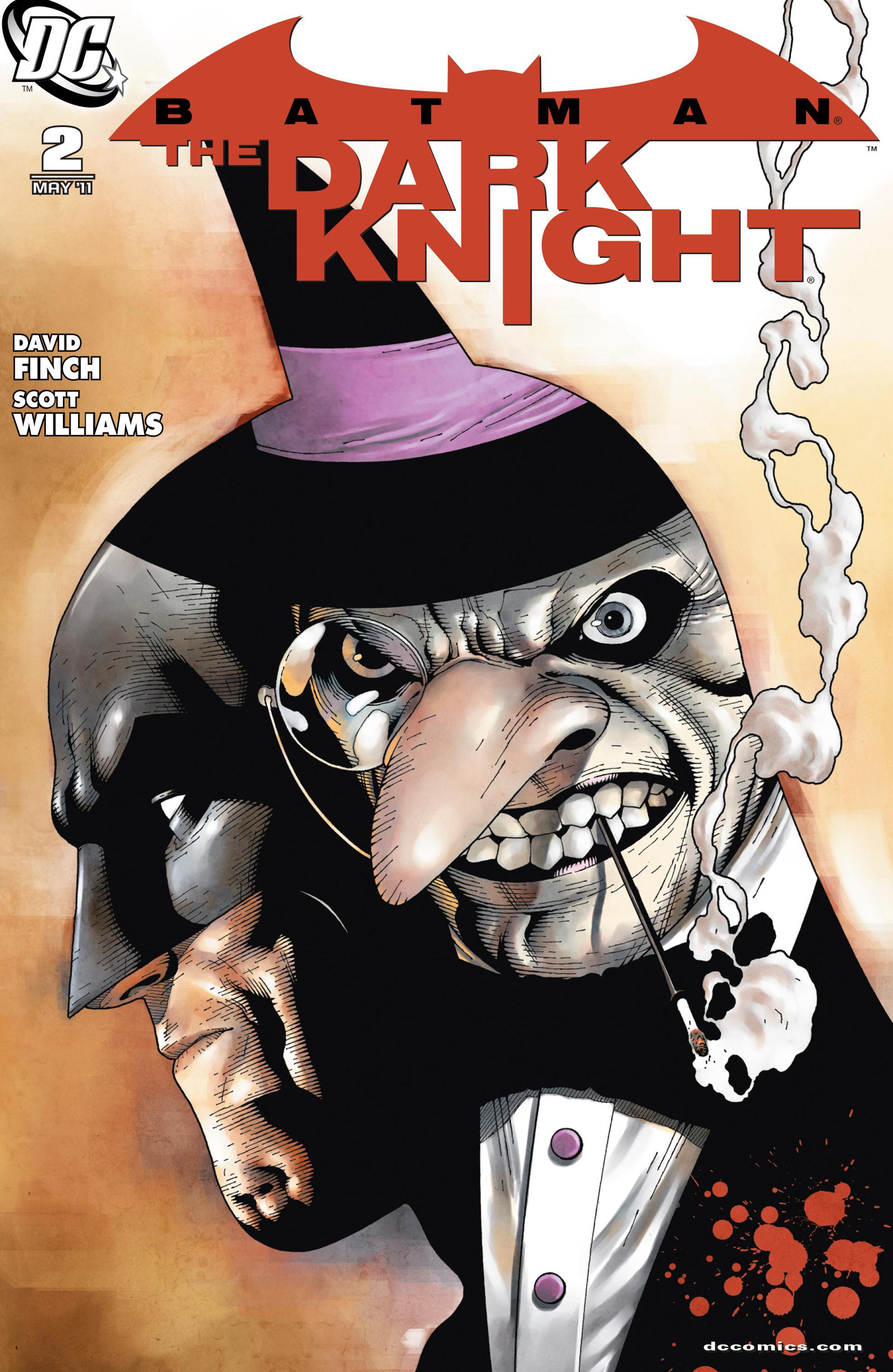 Batman: The Dark Knight [I] (2011) 2 Page 1