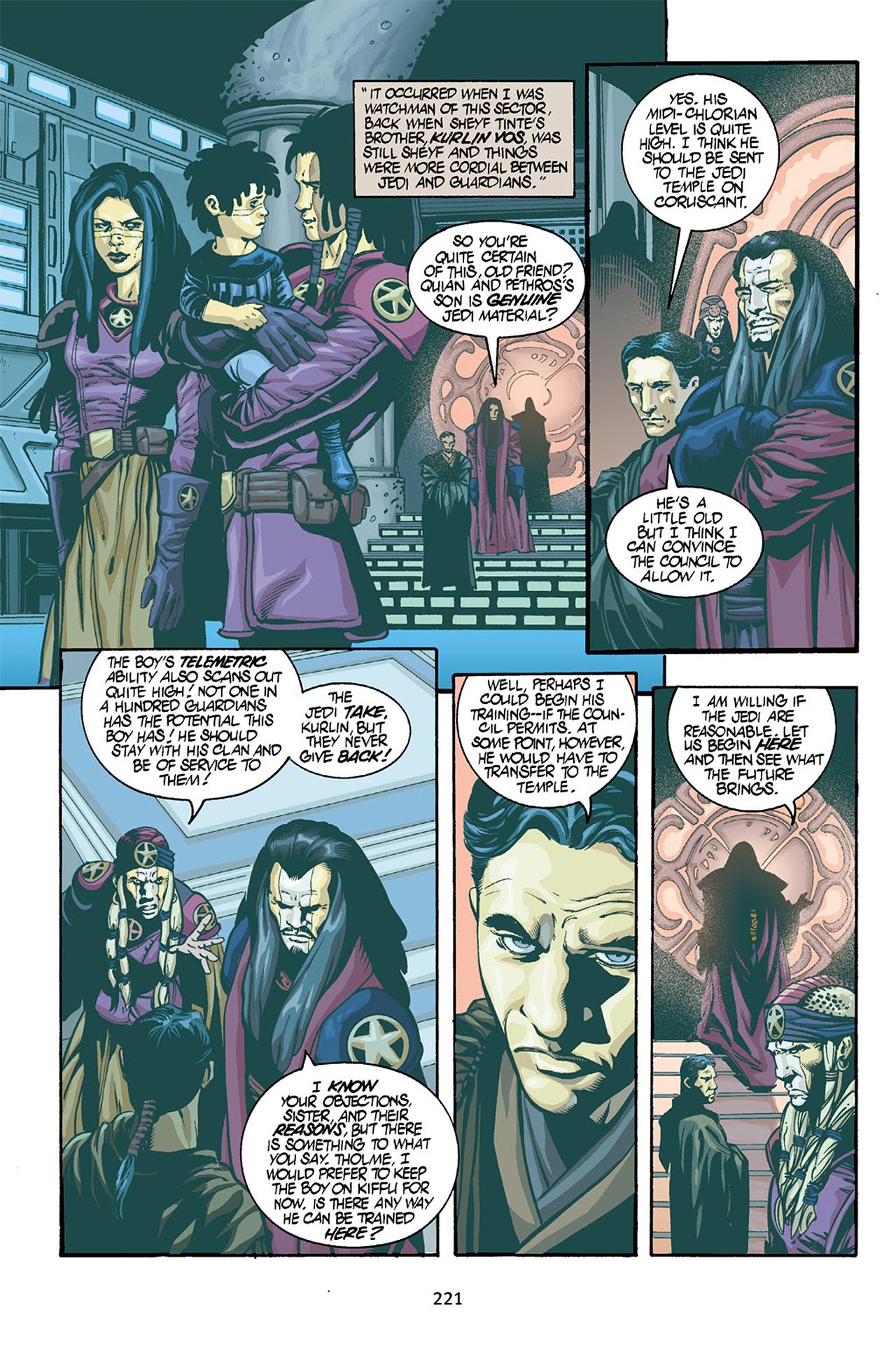 Read online Star Wars Omnibus comic -  Issue # Vol. 15 - 218