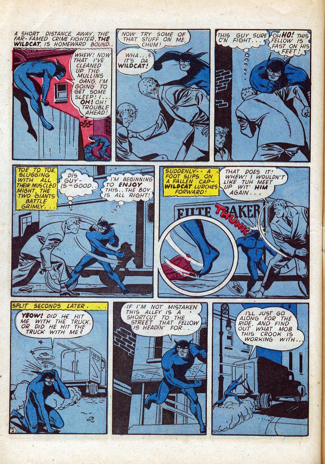 Read online Sensation (Mystery) Comics comic -  Issue #26 - 50