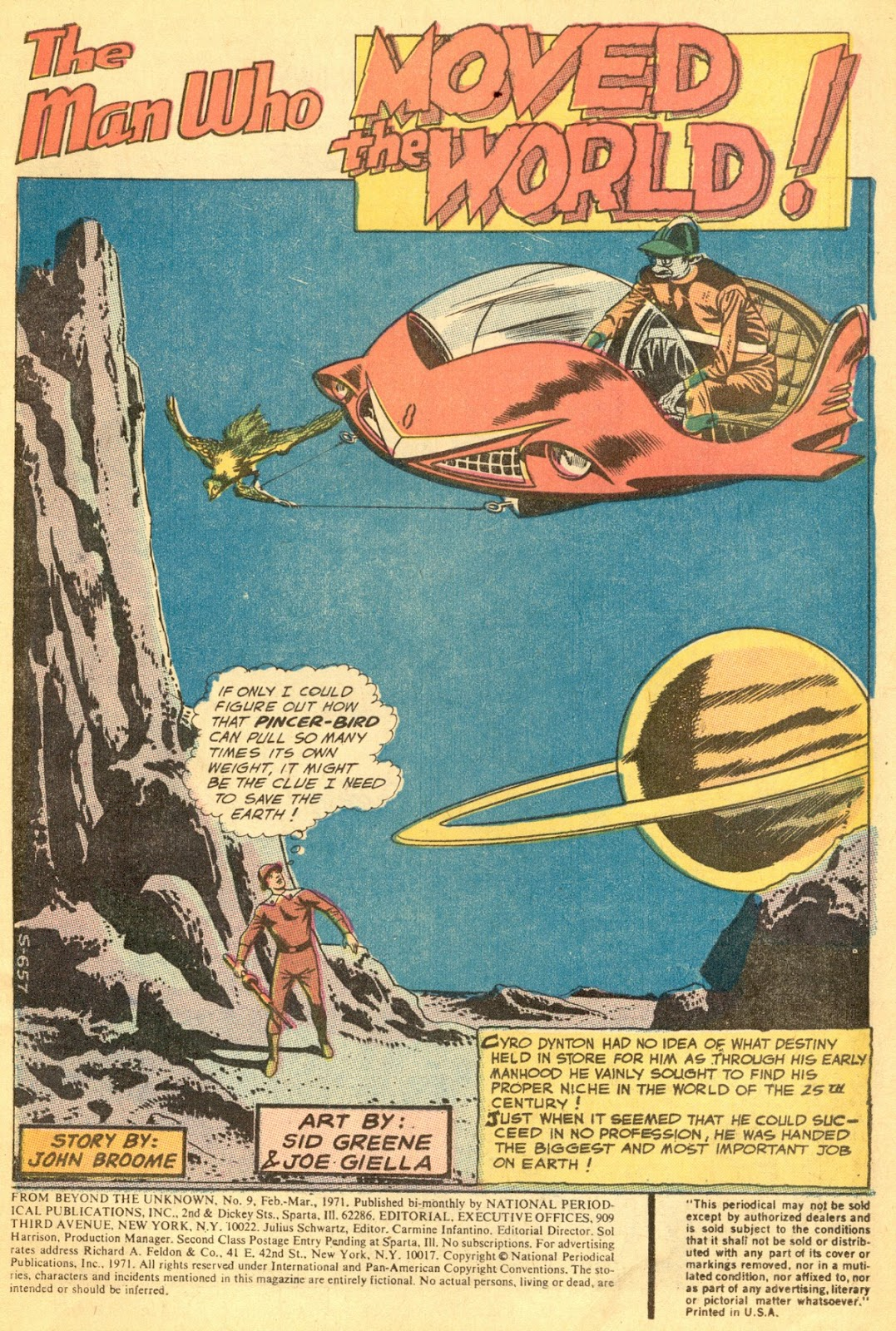 From Beyond the Unknown (1969) issue 9 - Page 3