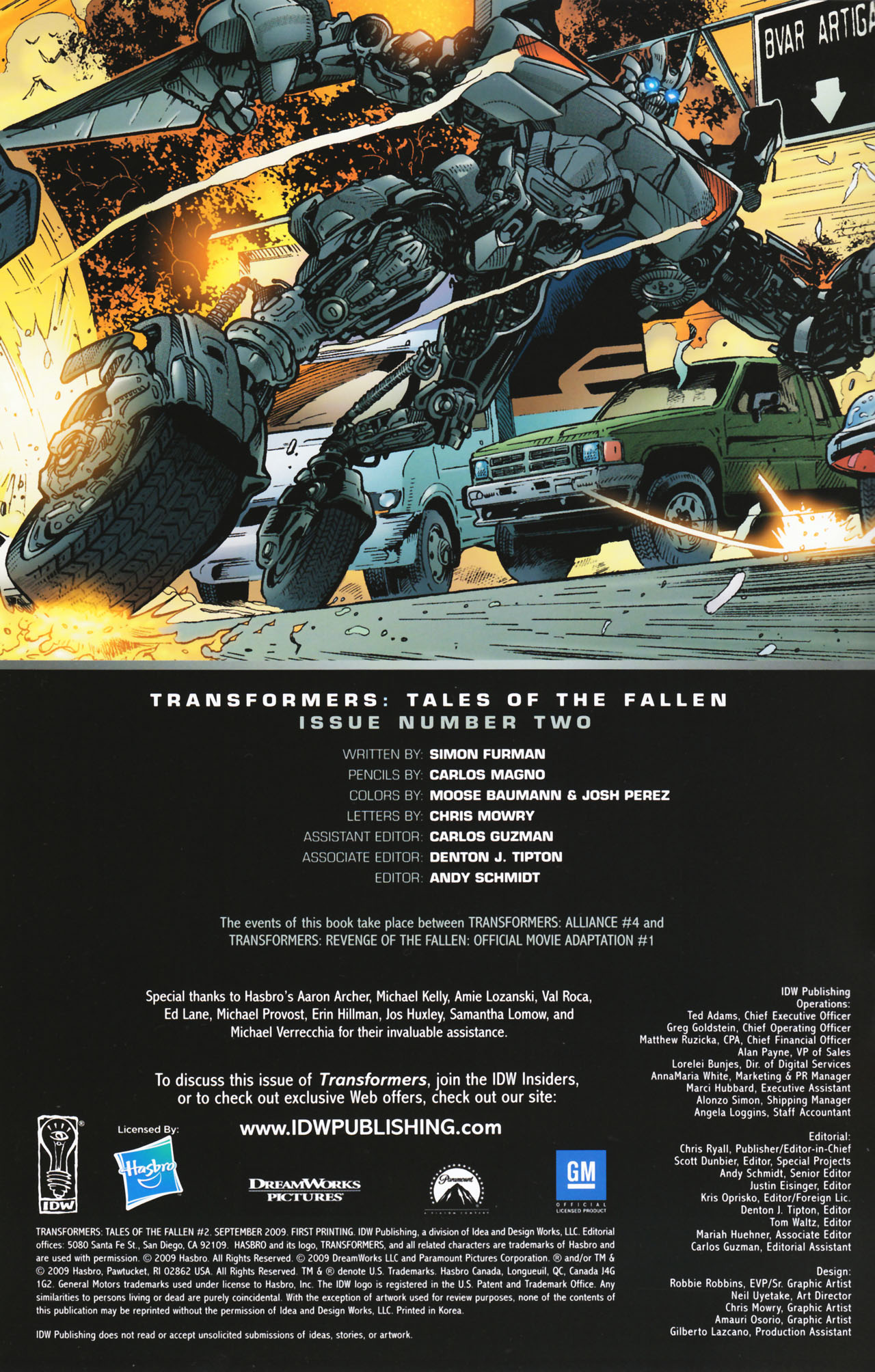 Read online Transformers: Tales of The Fallen comic -  Issue #2 - 2