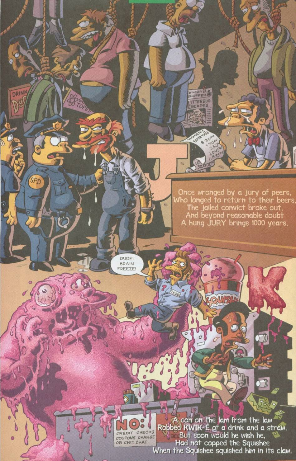 Read online Treehouse of Horror comic -  Issue #8 - 37