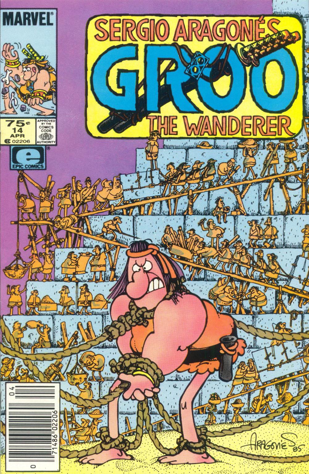 Read online Sergio Aragonés Groo the Wanderer comic -  Issue #14 - 1