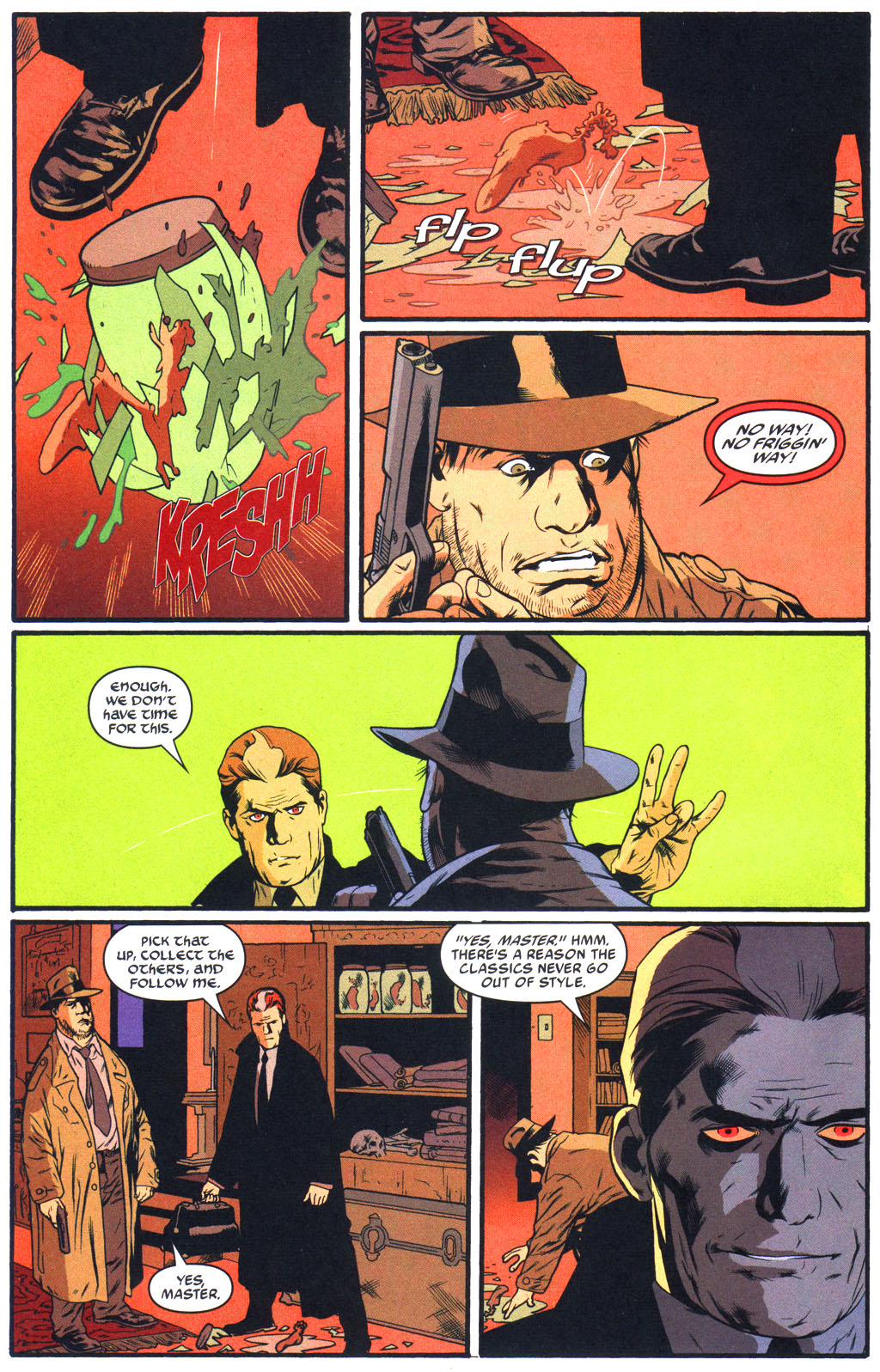 Read online Arkham Asylum: Living Hell comic -  Issue #5 - 16
