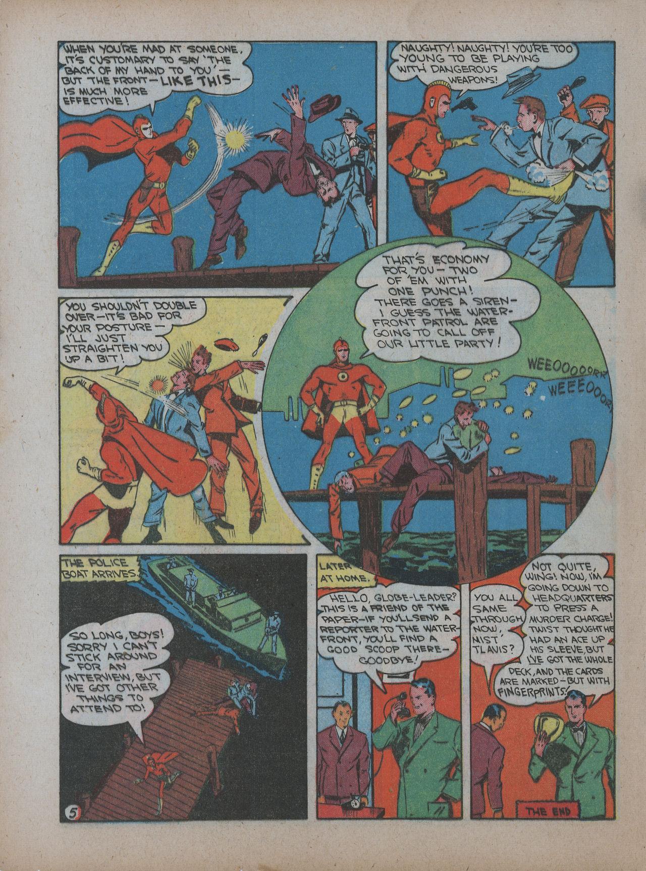 Read online Detective Comics (1937) comic -  Issue #48 - 56