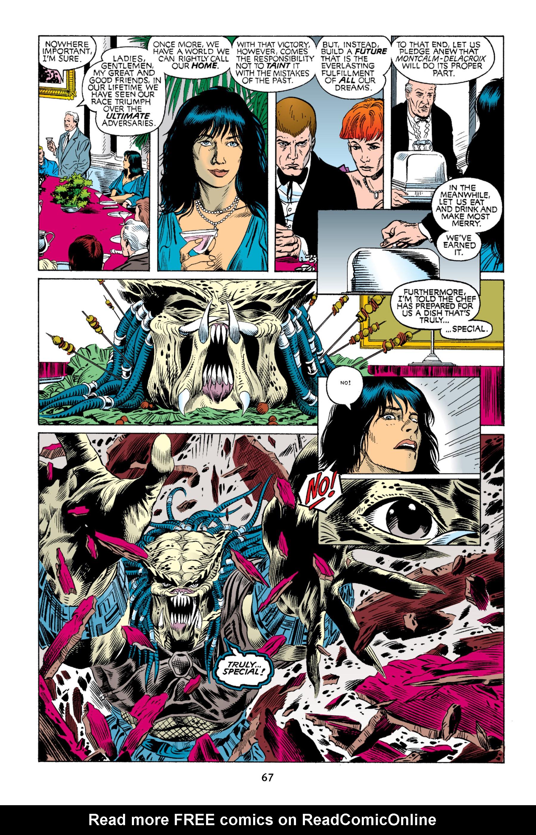 Read online Aliens vs. Predator Omnibus comic -  Issue # _TPB 2 Part 1 - 66