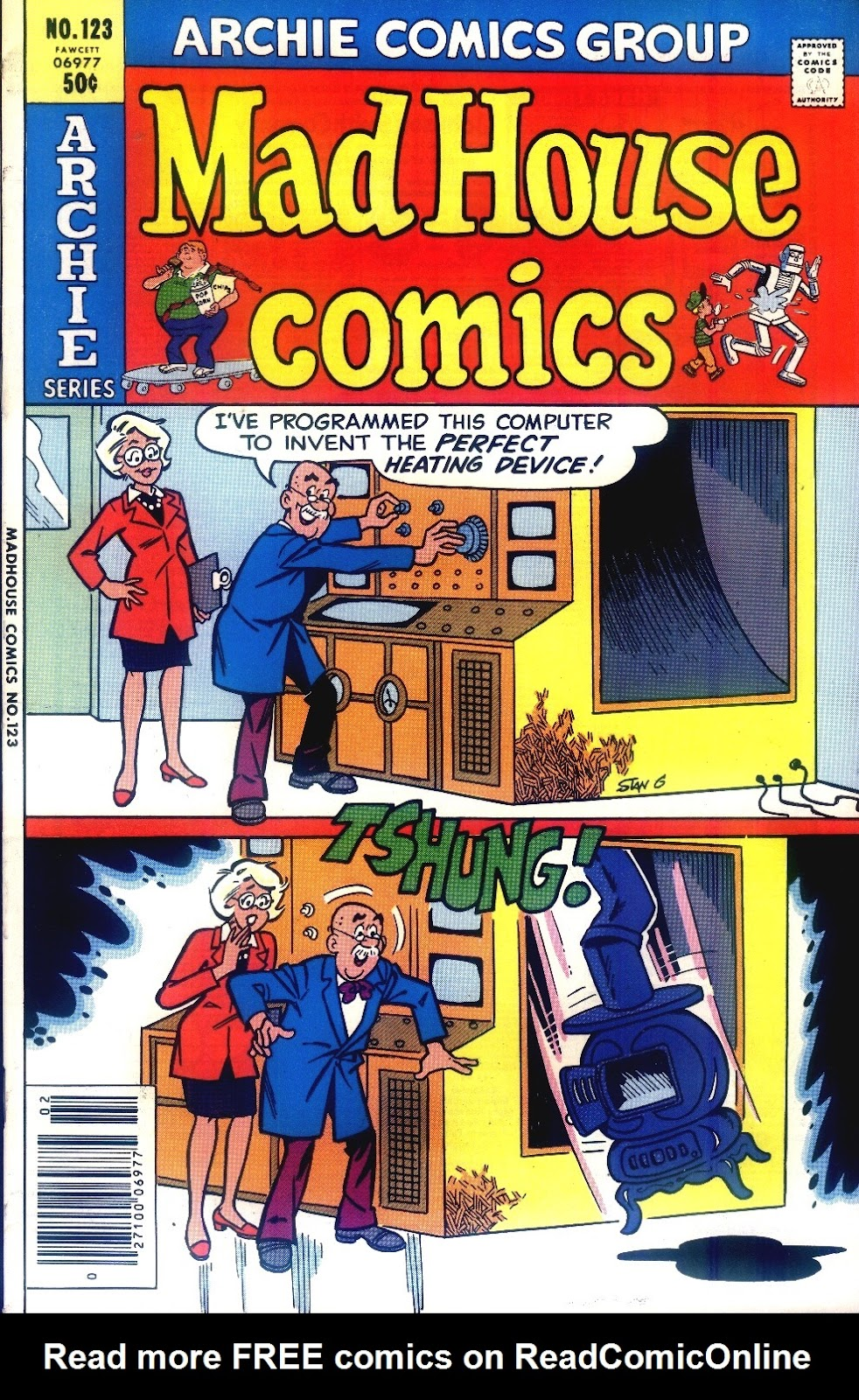 Read online Madhouse Comics comic -  Issue #123 - 1