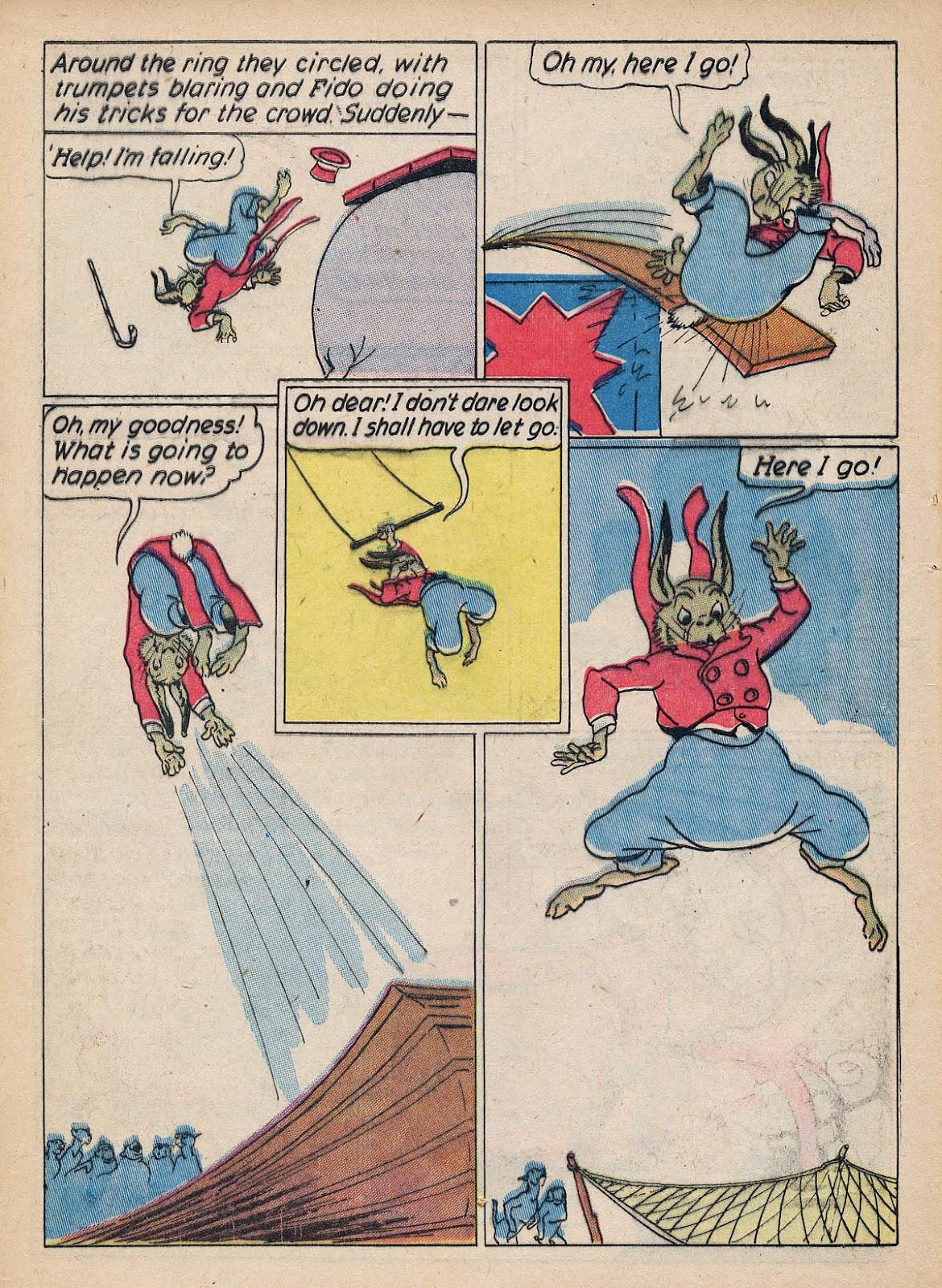 Read online Animal Comics comic -  Issue #7 - 12