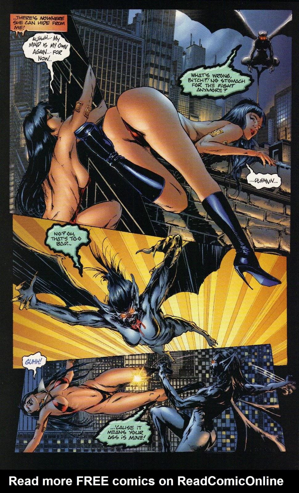 Vampirella vs Hemorrhage issue 1 - Page 18