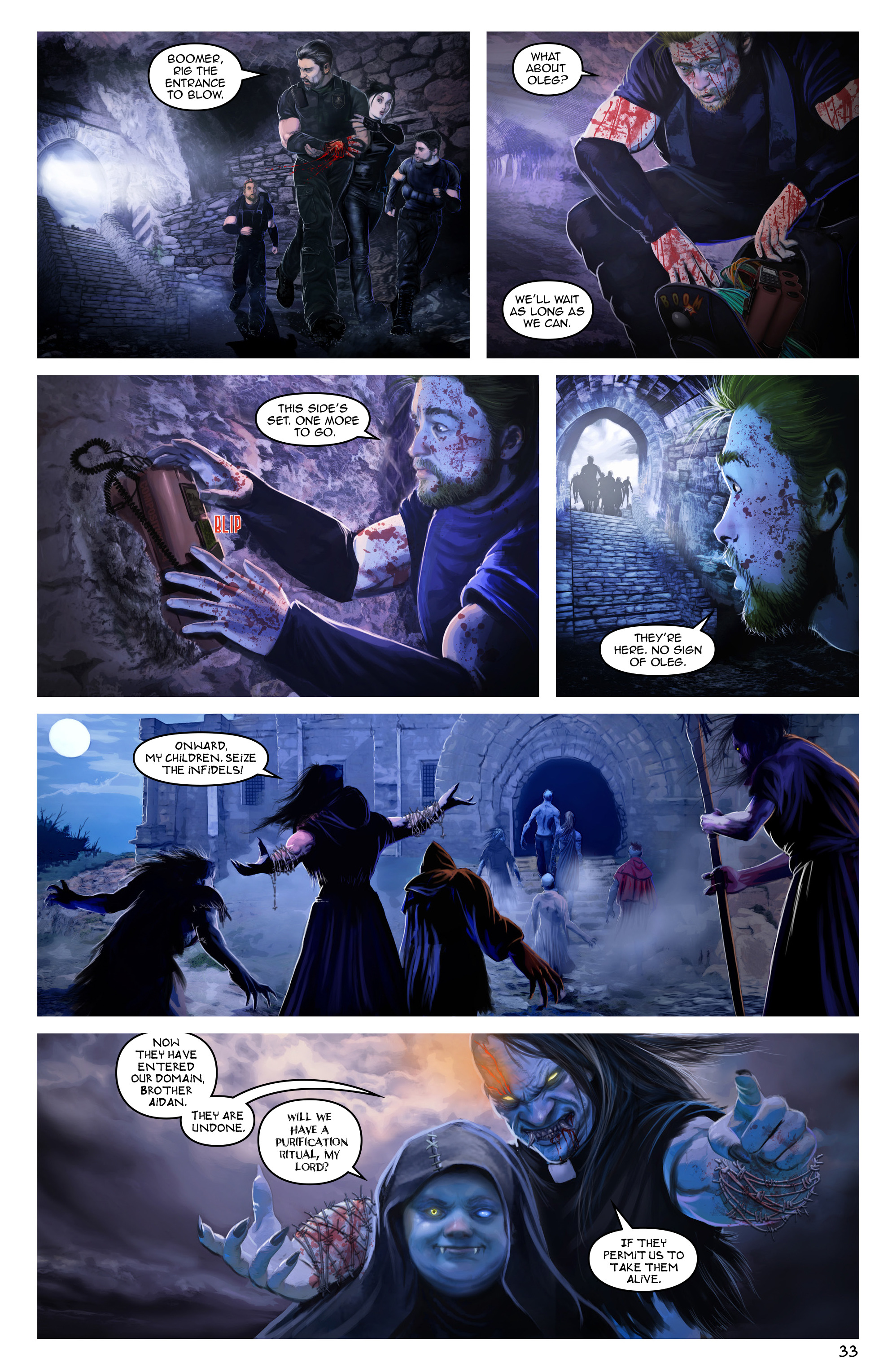 Read online Escape from Jesus Island comic -  Issue #3 - 33