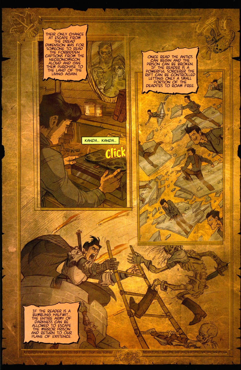 Read online Army of Darkness vs. Re-Animator comic -  Issue #3 - 20