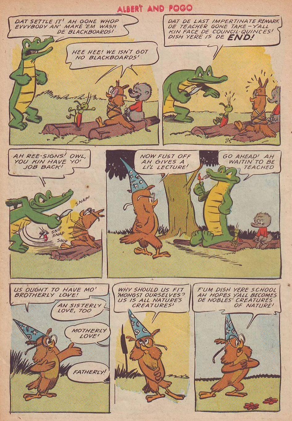 Read online Animal Comics comic -  Issue #25 - 8