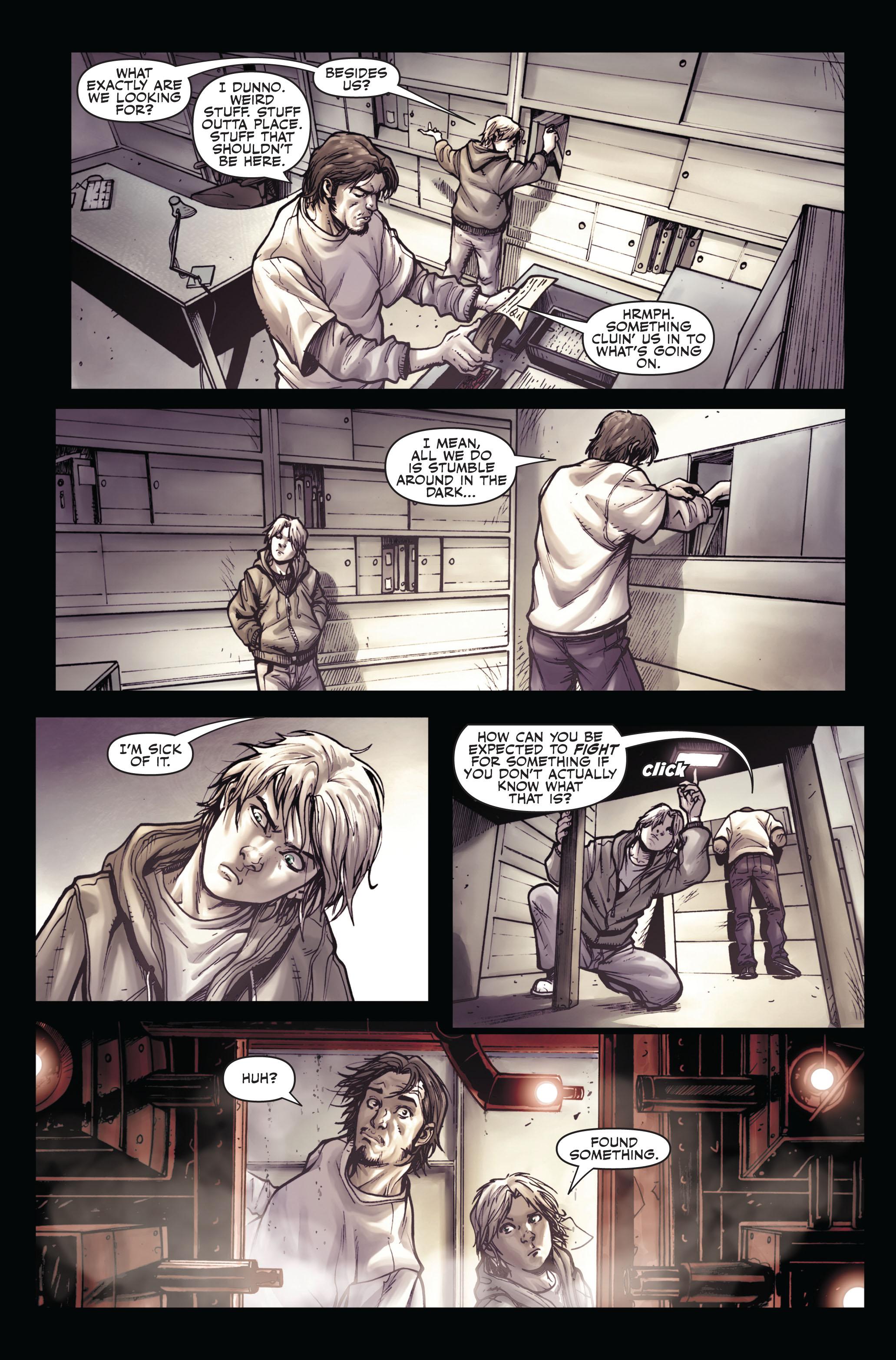 Read online Secret Warriors comic -  Issue #4 - 11