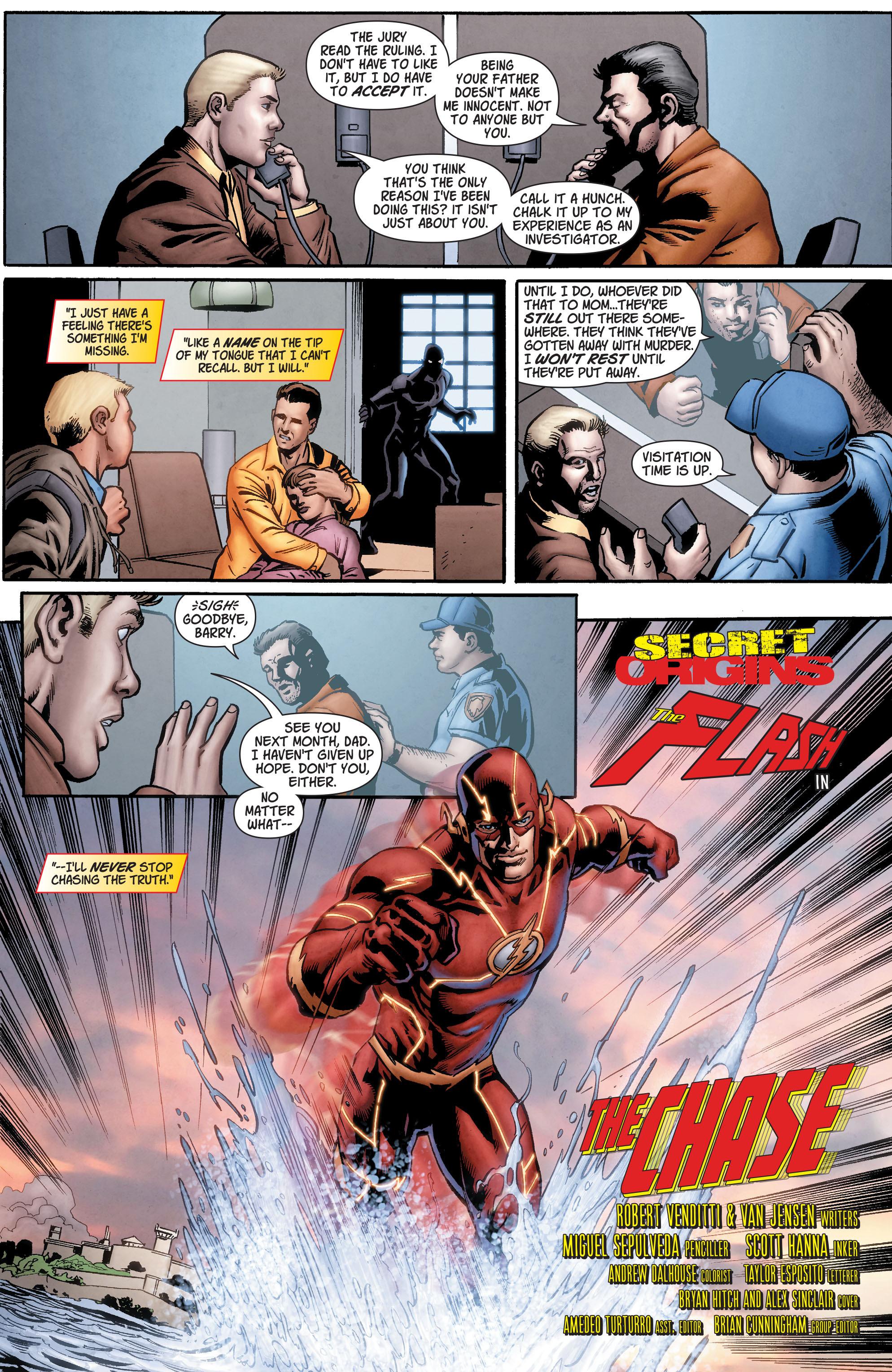Read online Secret Origins (2014) comic -  Issue #7 - 13