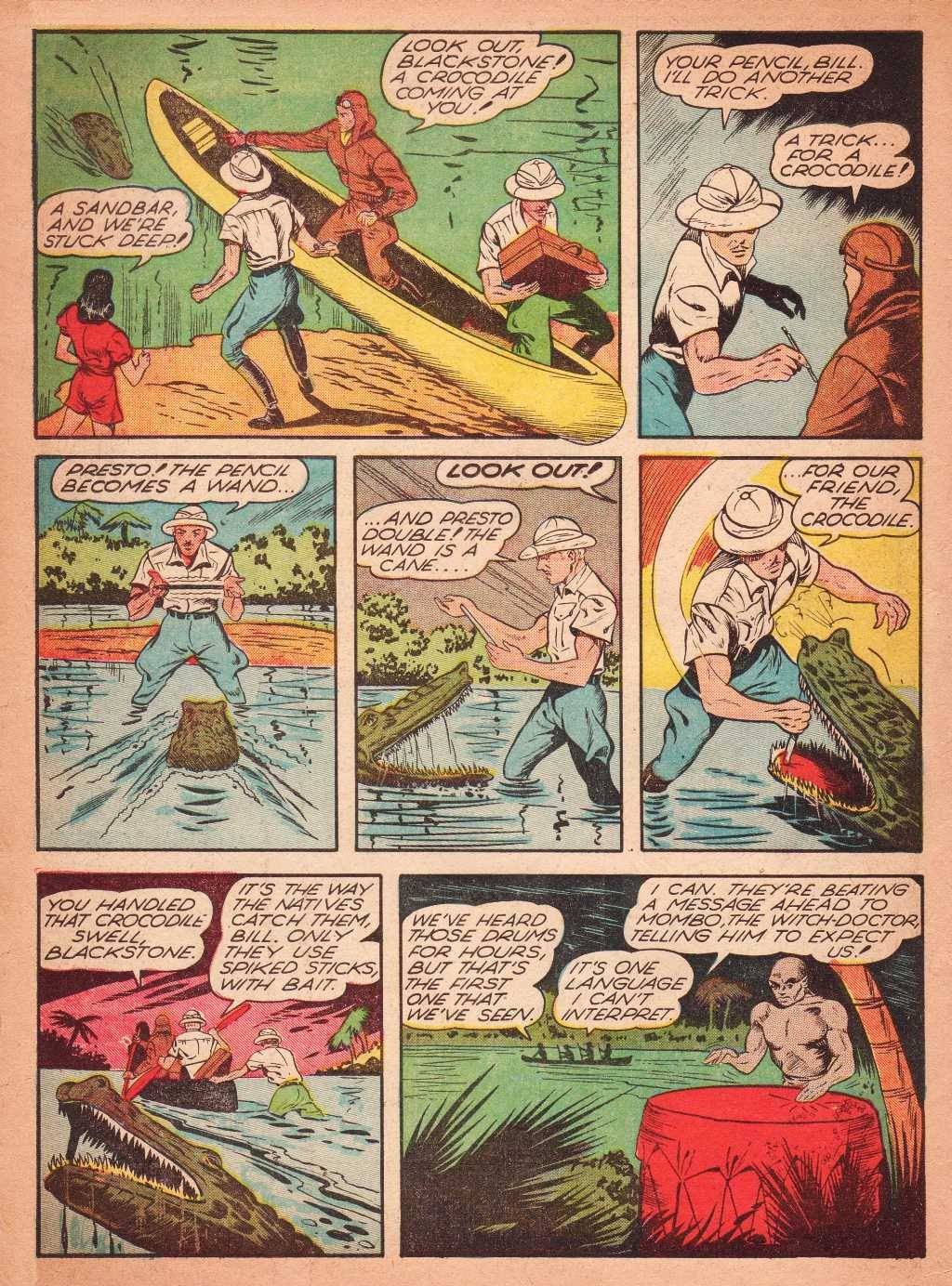 Read online Super-Magician Comics comic -  Issue #2 - 8