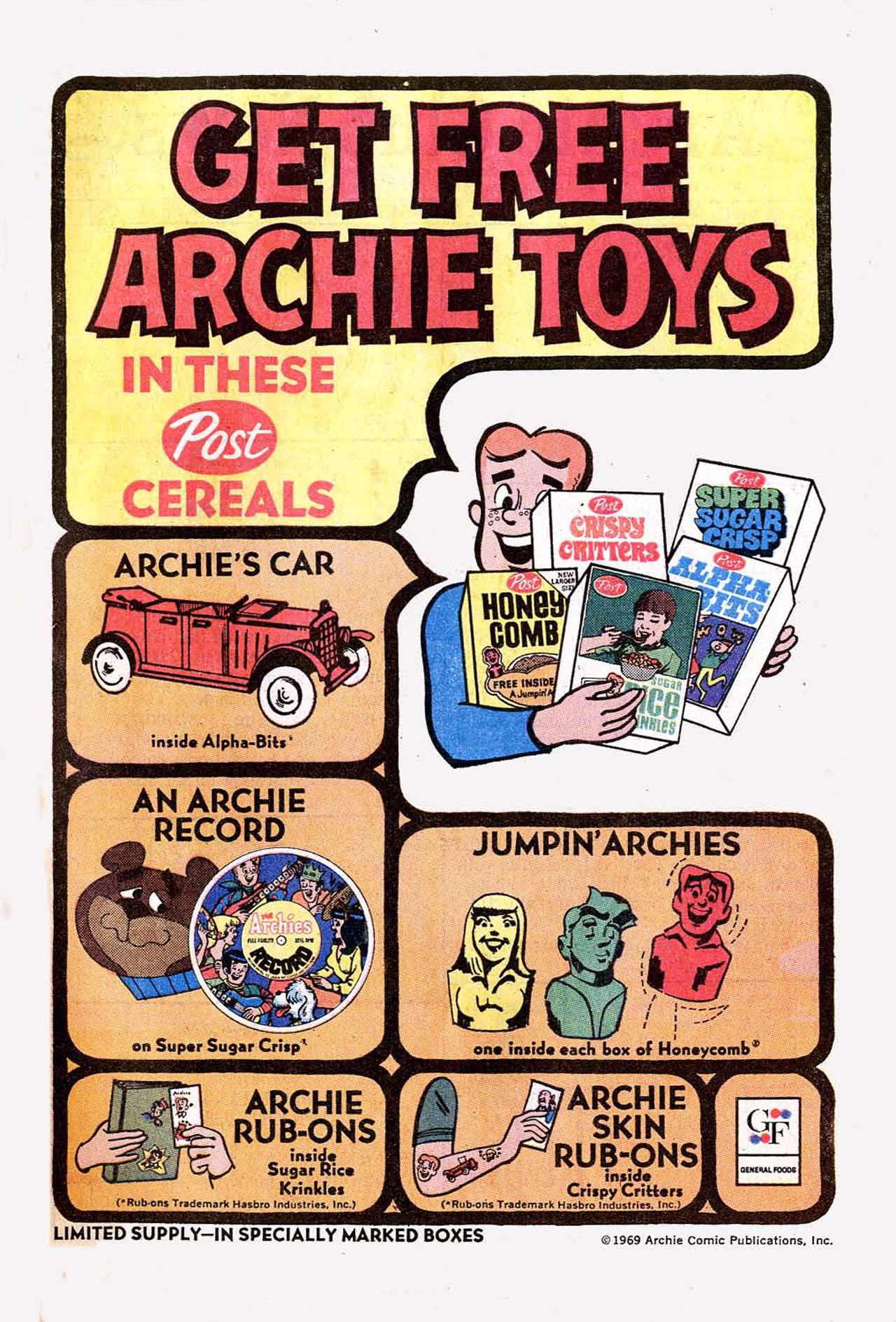 Read online Archie (1960) comic -  Issue #197 - 9
