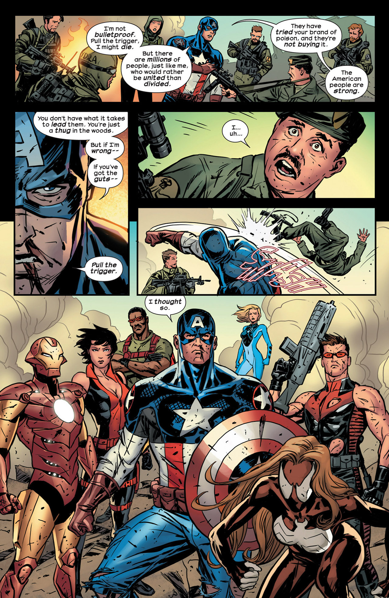 Read online Ultimate Comics Ultimates comic -  Issue #18 - 21