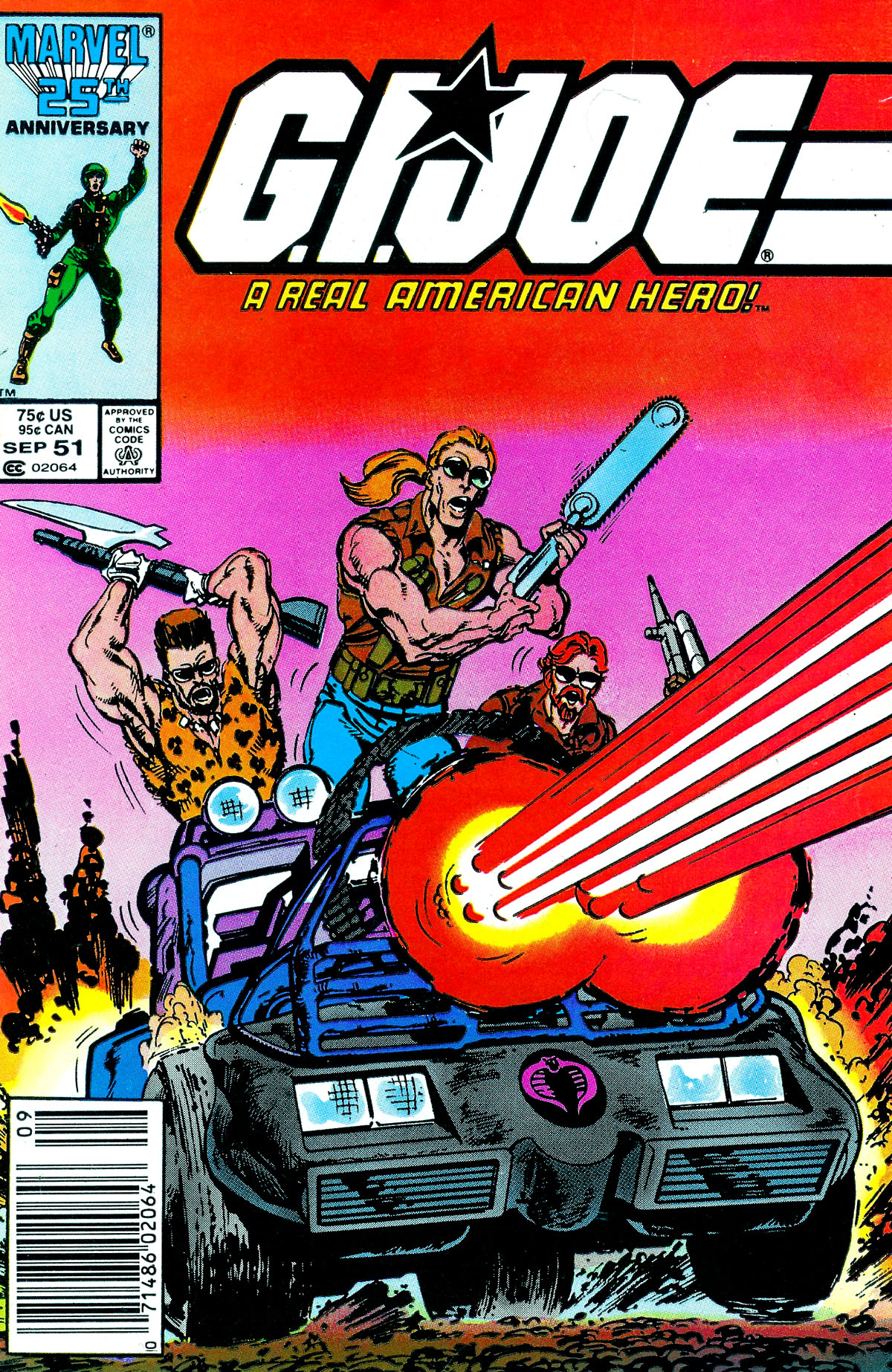 G.I. Joe: A Real American Hero 51 Page 1