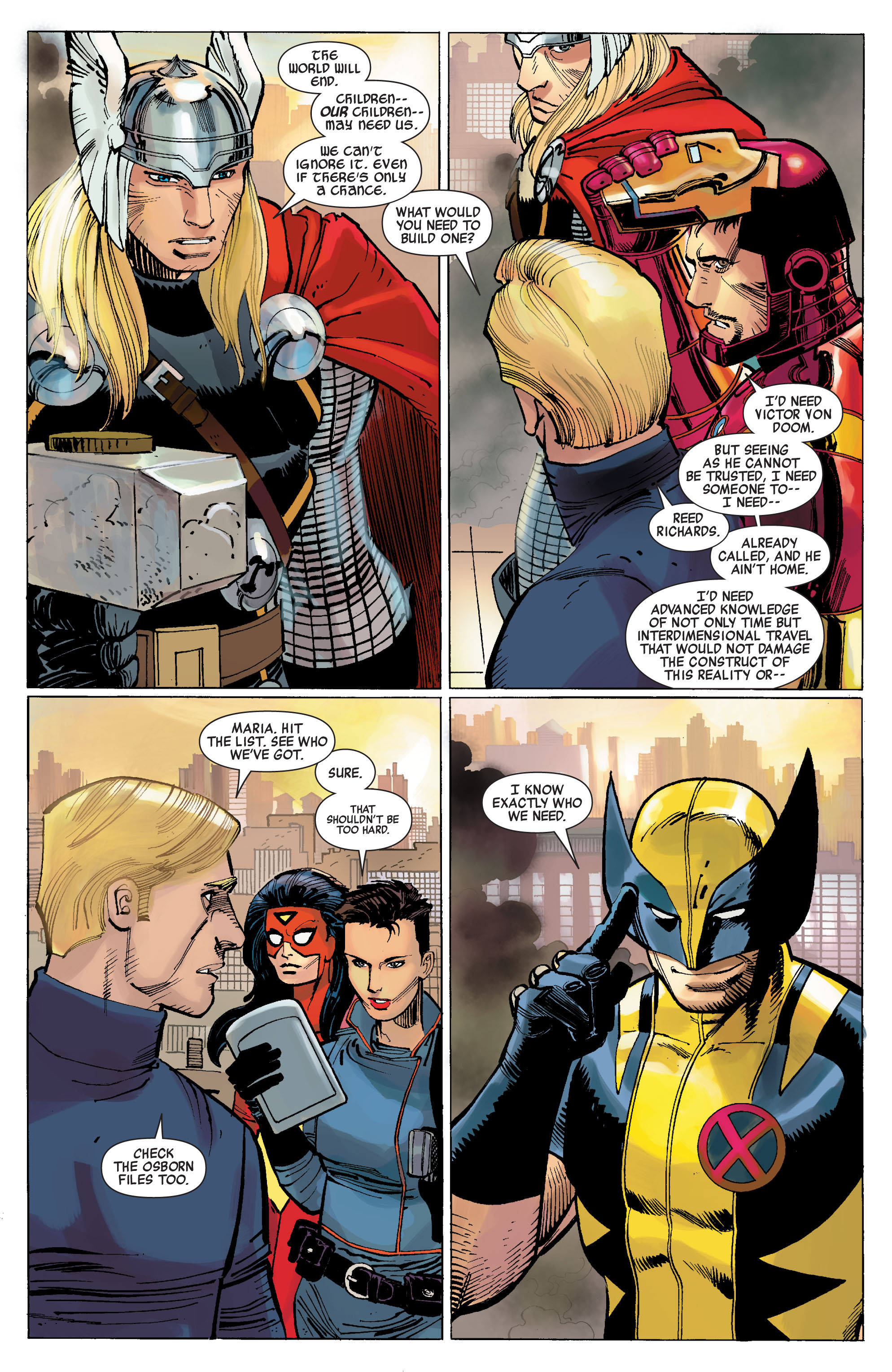 Read online Avengers (2010) comic -  Issue #1 - 21