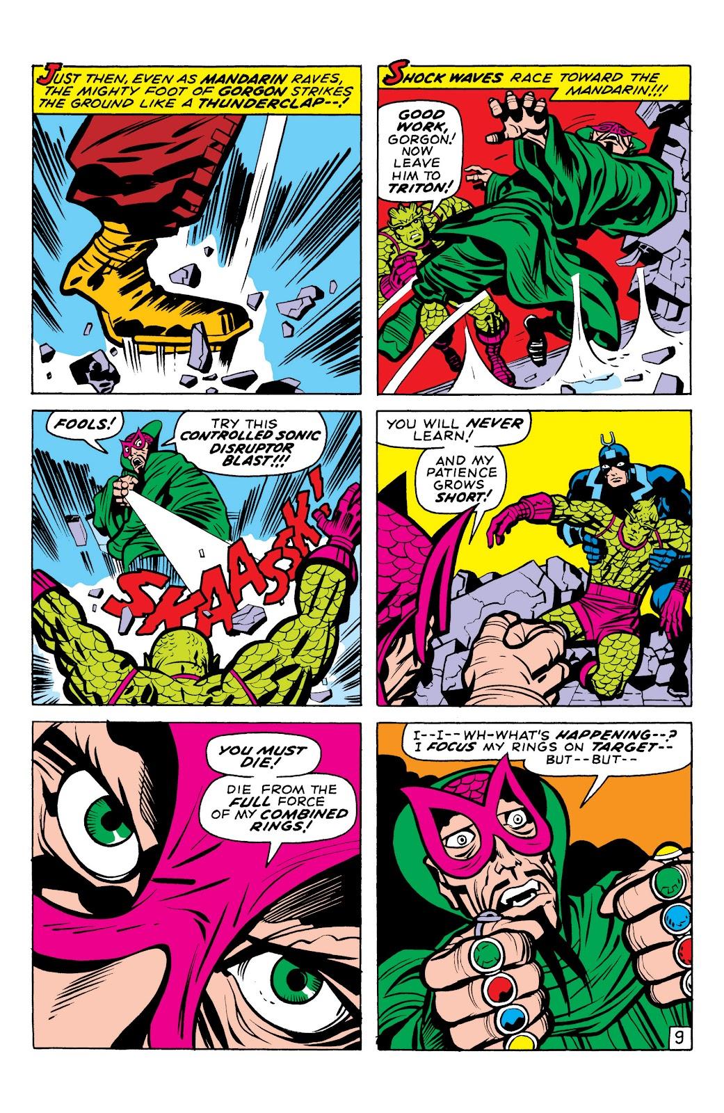 Read online Marvel Masterworks: The Inhumans comic -  Issue # TPB 1 (Part 2) - 11